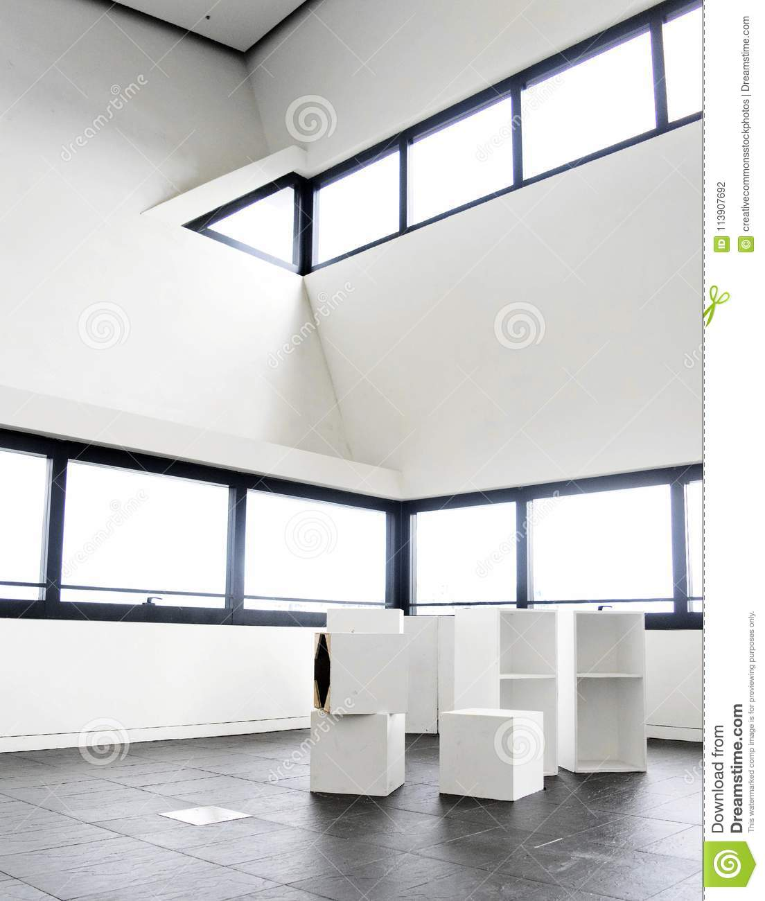 White Wall Paint Inside The House Interior