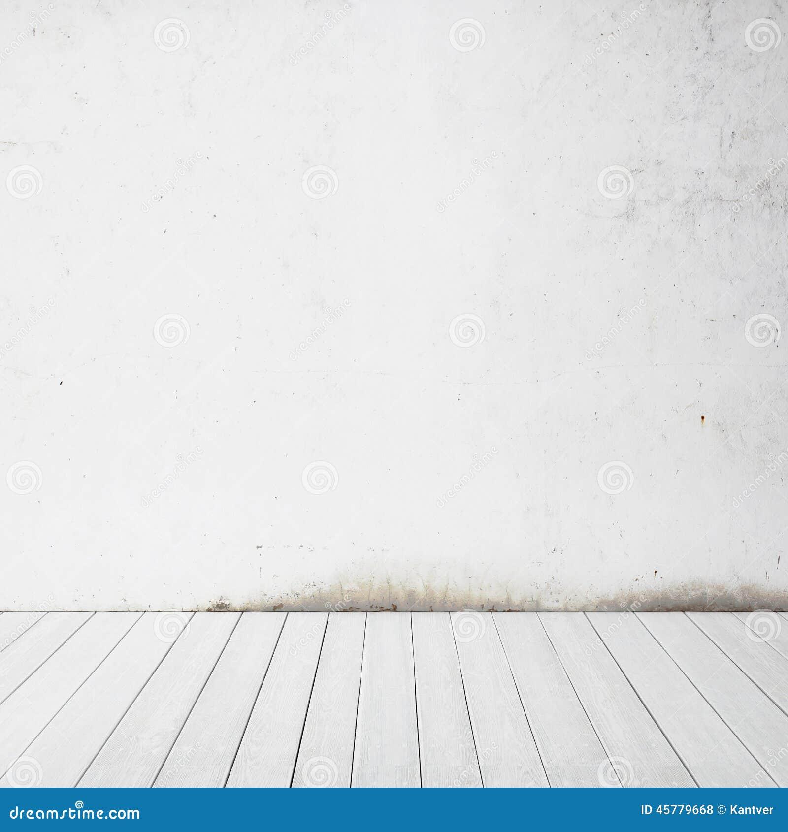 White Wall And Wood Floor Stock Photo Image Of Hardwood