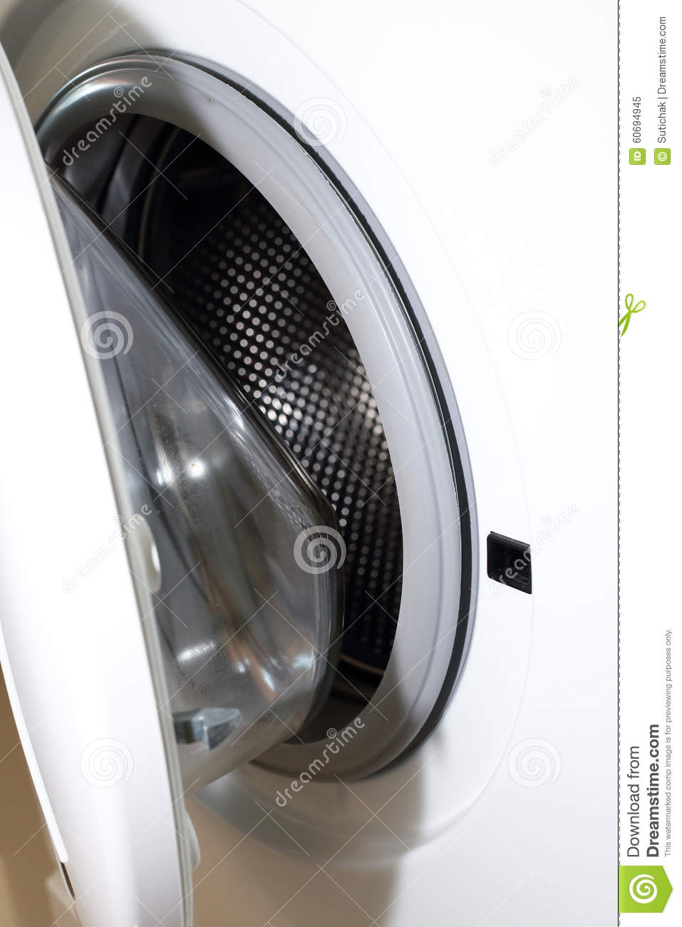 cleaning clothes washing machine