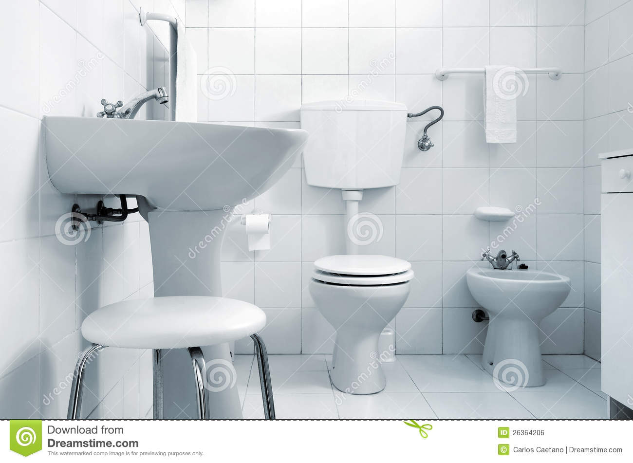 White Water Closet Stock Photo Image Of Rustic Nice