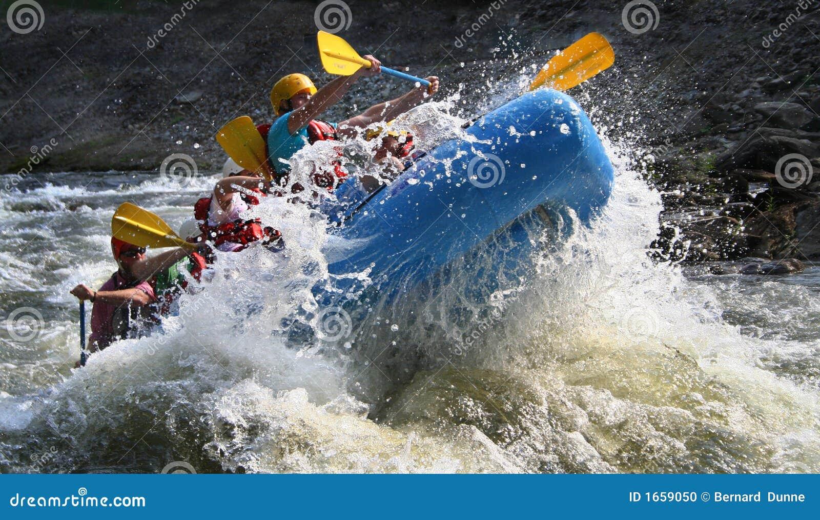 White water rafting Ocoee stock photo  Image of river - 1659050
