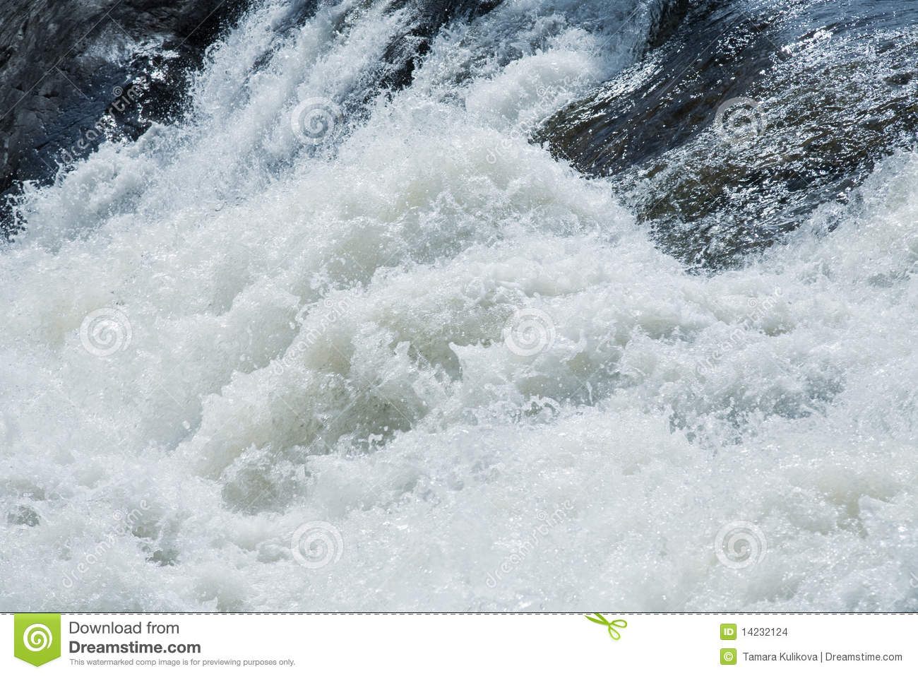 White Water Rapids Background Stock Images Image