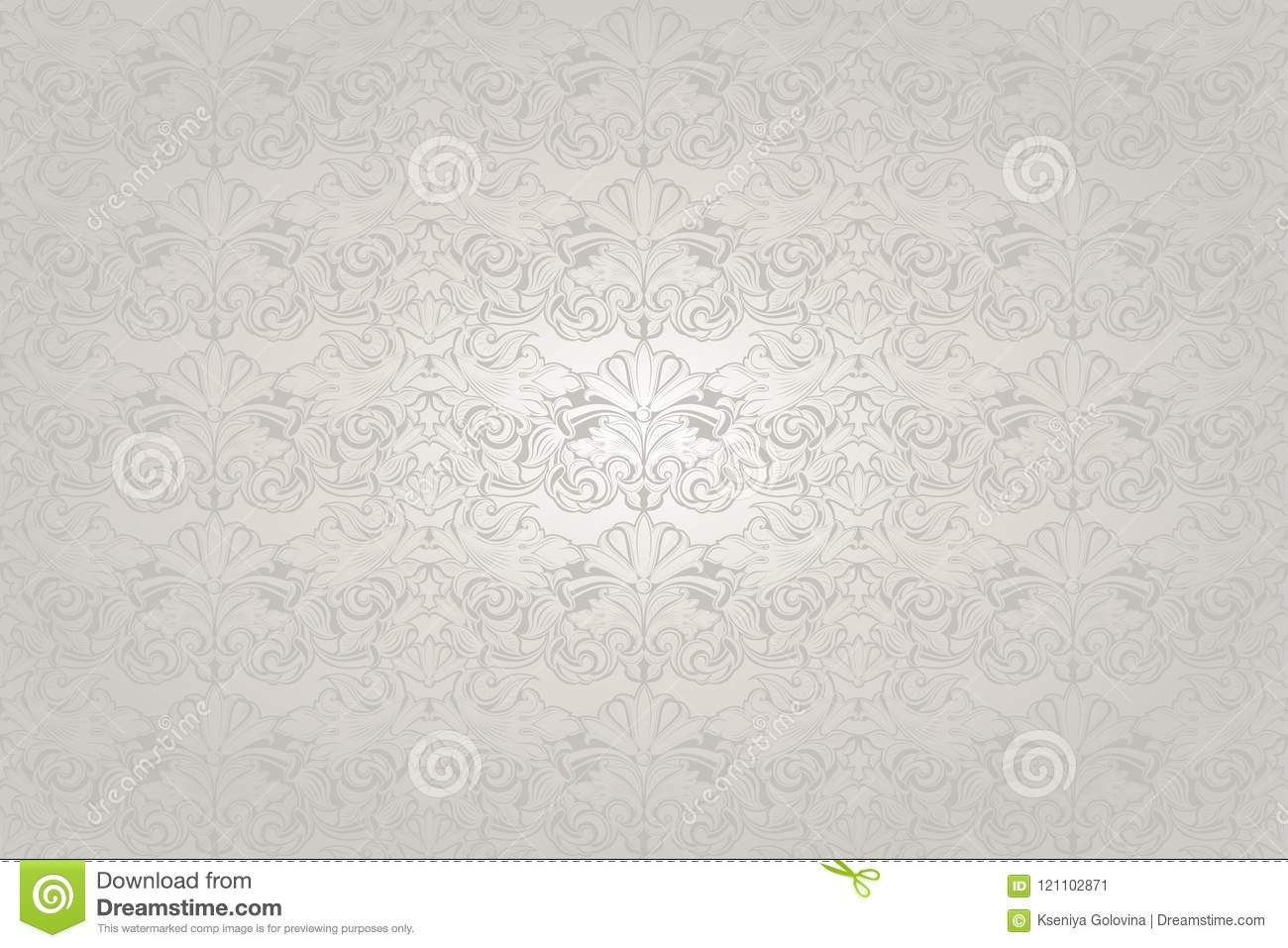 White wedding background with a pearl shine