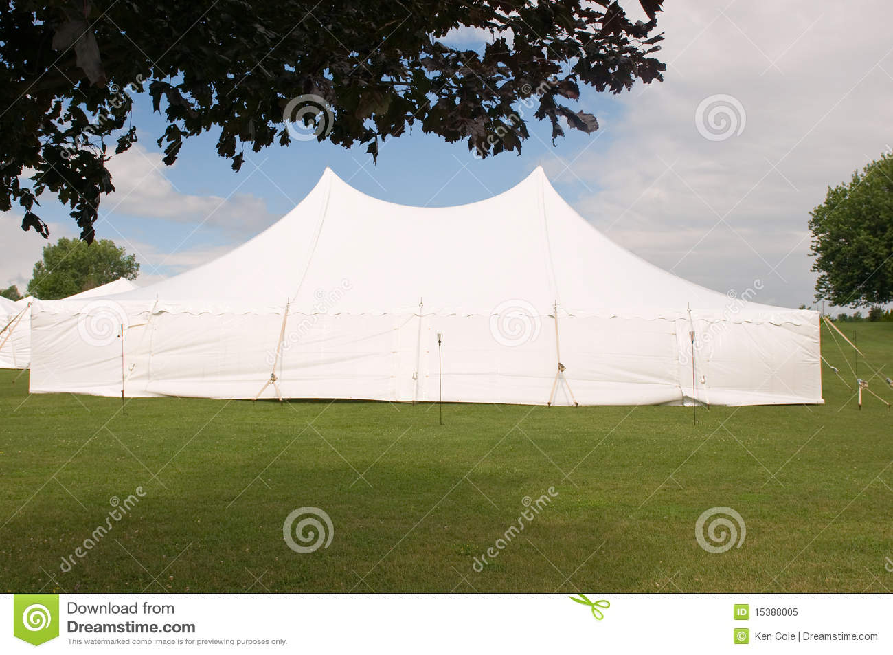 White wedding party tent & White wedding party tent stock image. Image of special - 15388005