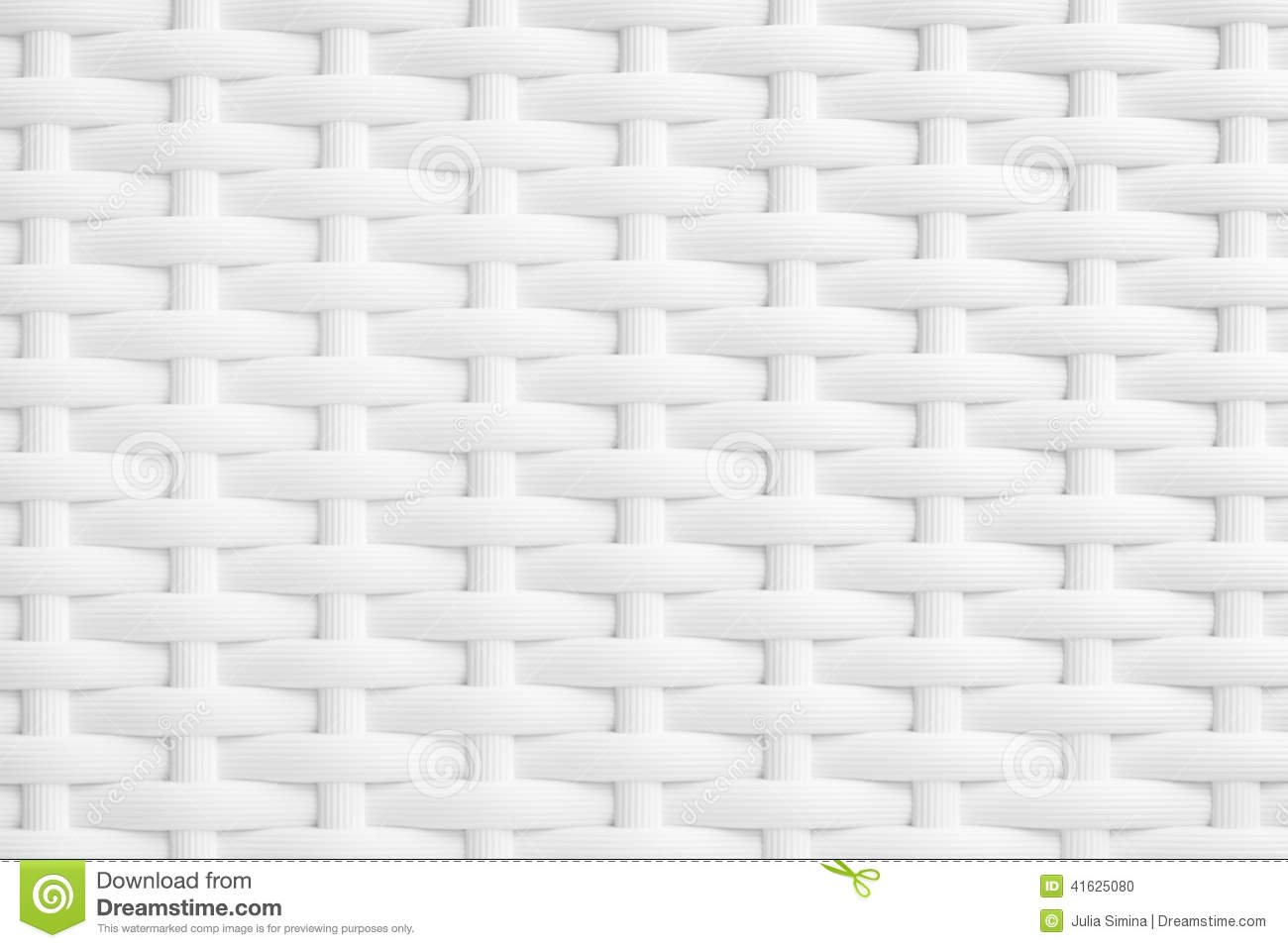 White Wicker Texture Stock Photo Image 41625080