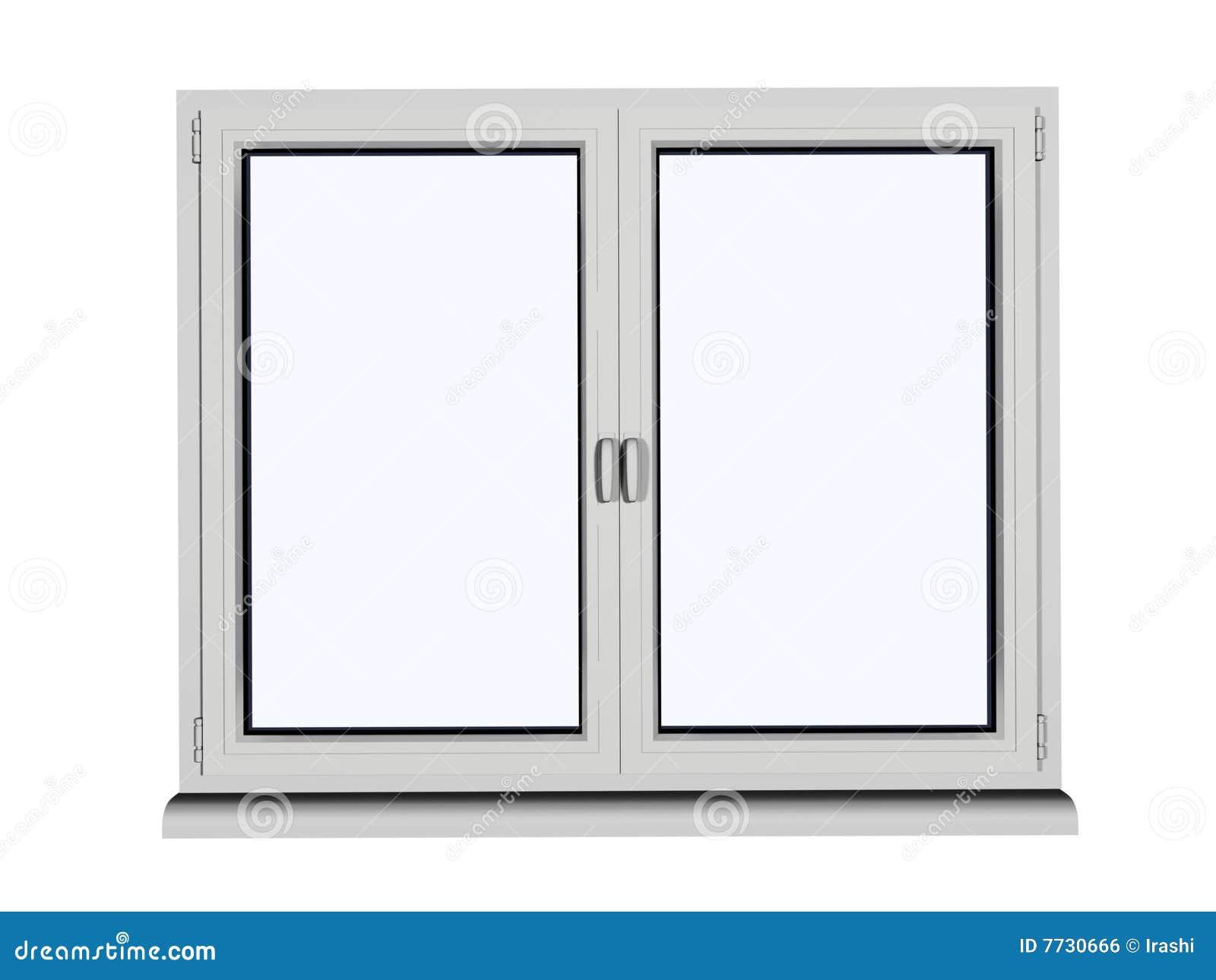 White Window Stock Photo Image Of Metal Construction