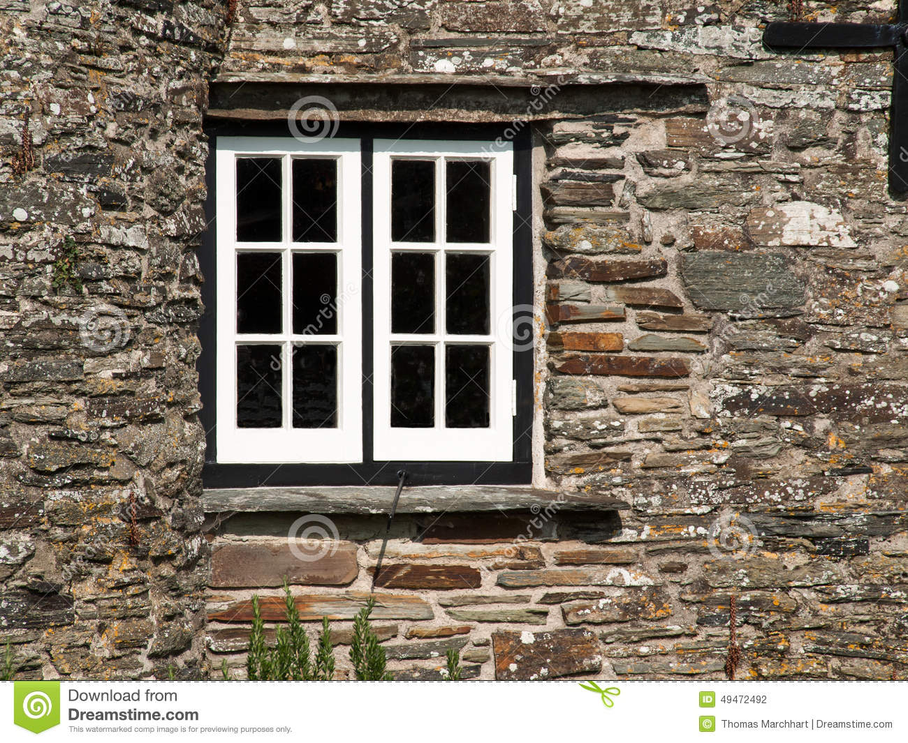 White window frame - White Window In A Black Frame