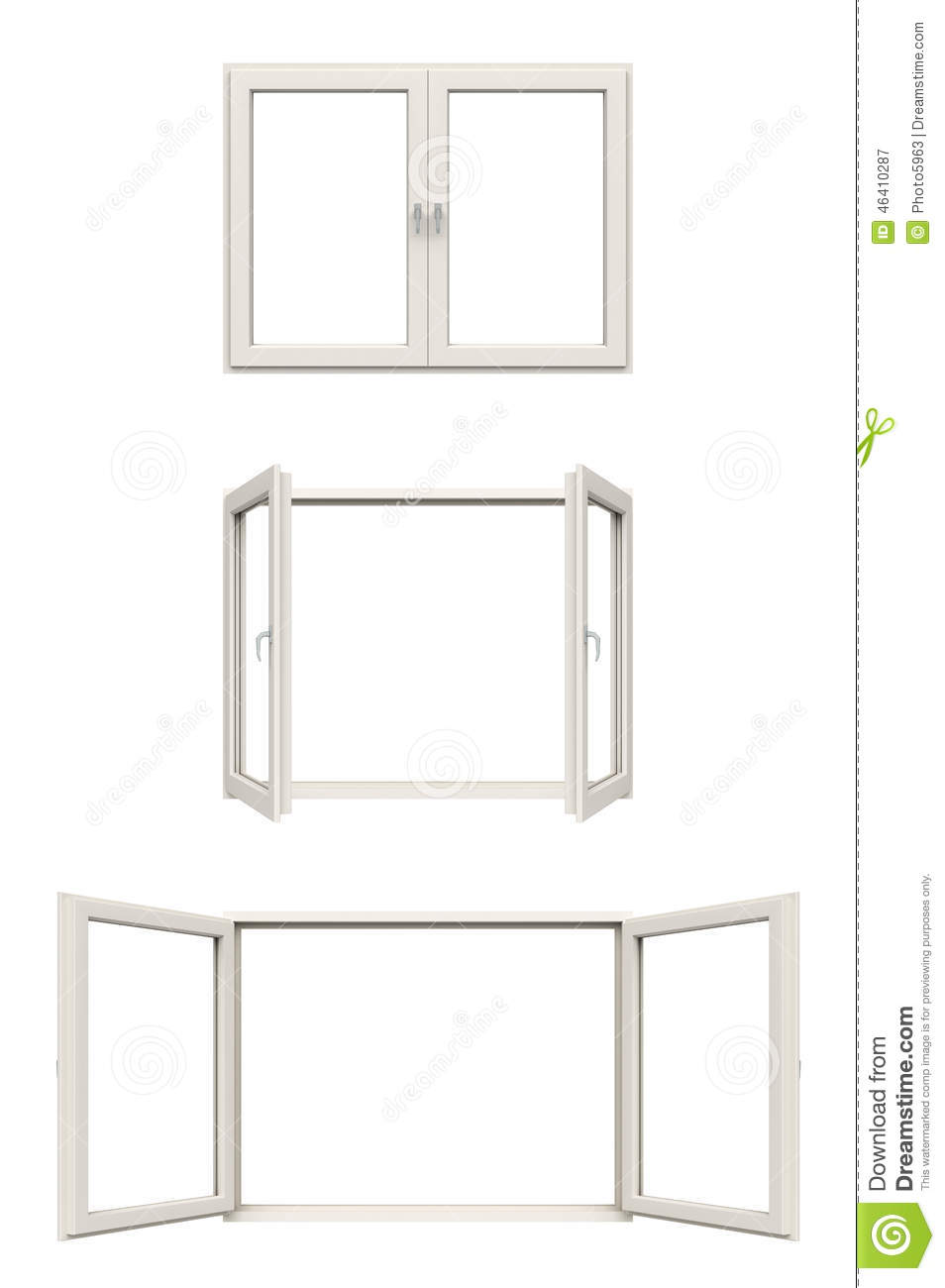 White window frame - White Window Frame