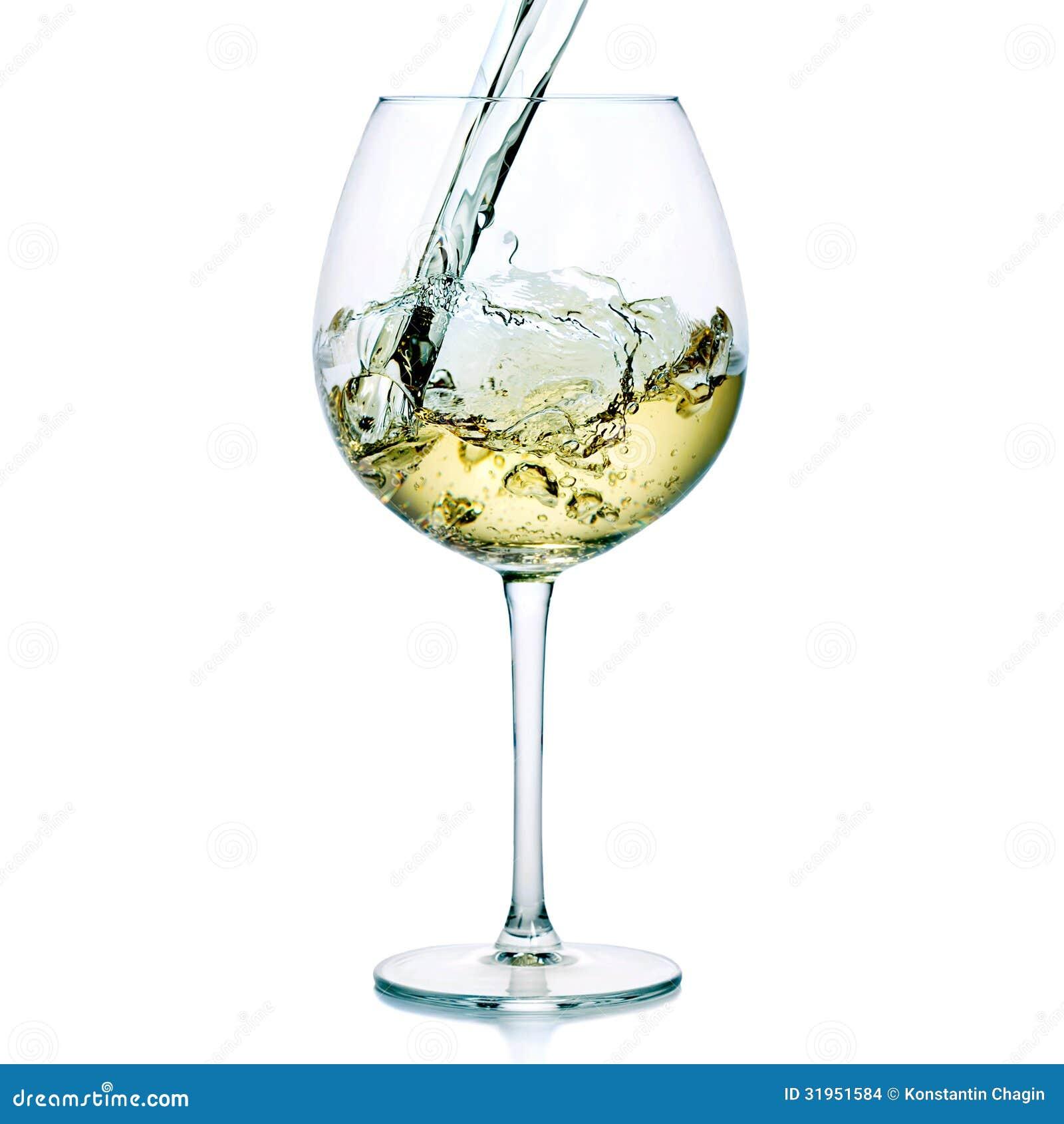 white wine splash stock images image 31951584