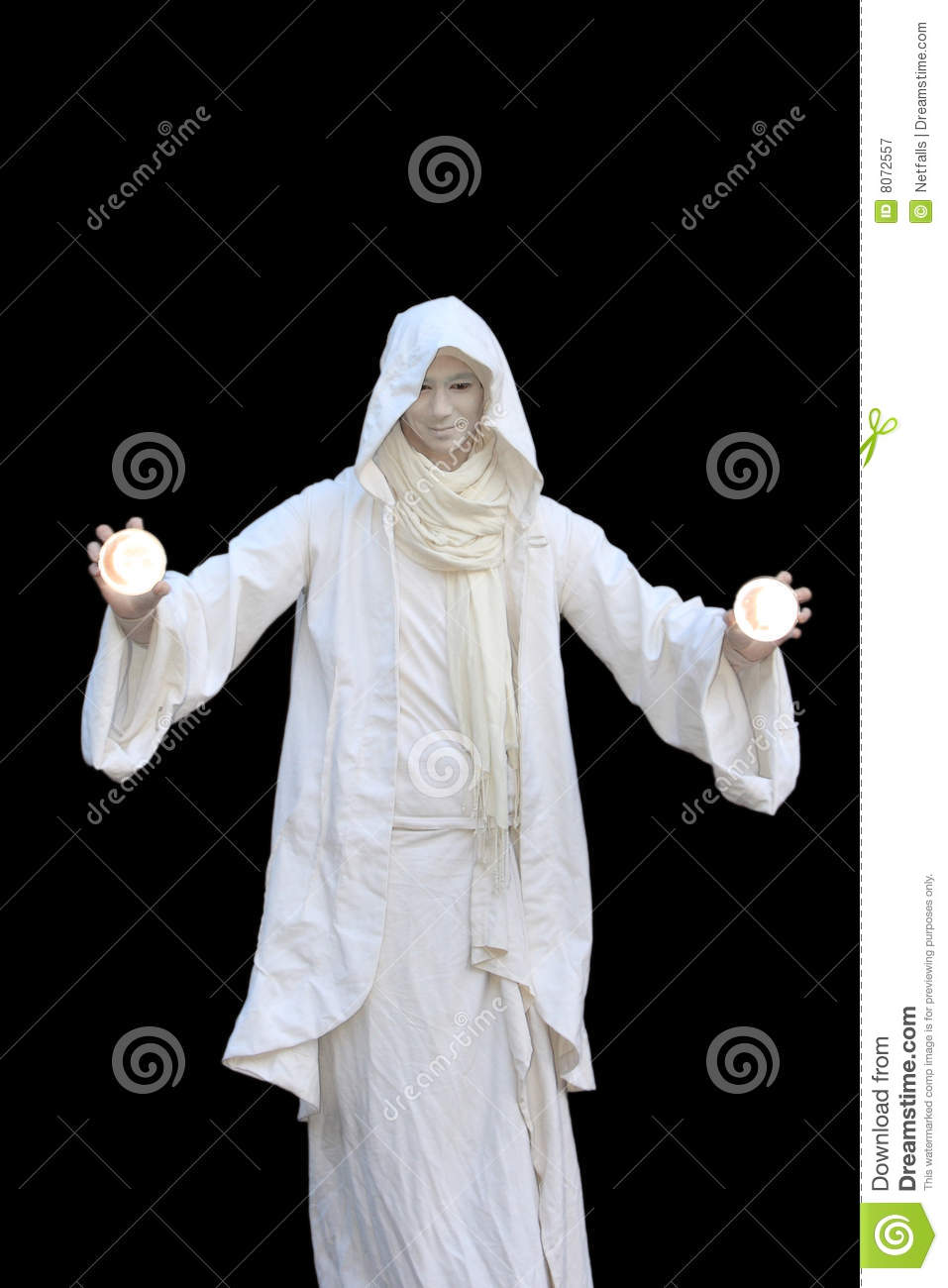 white wizard royalty free stock photography