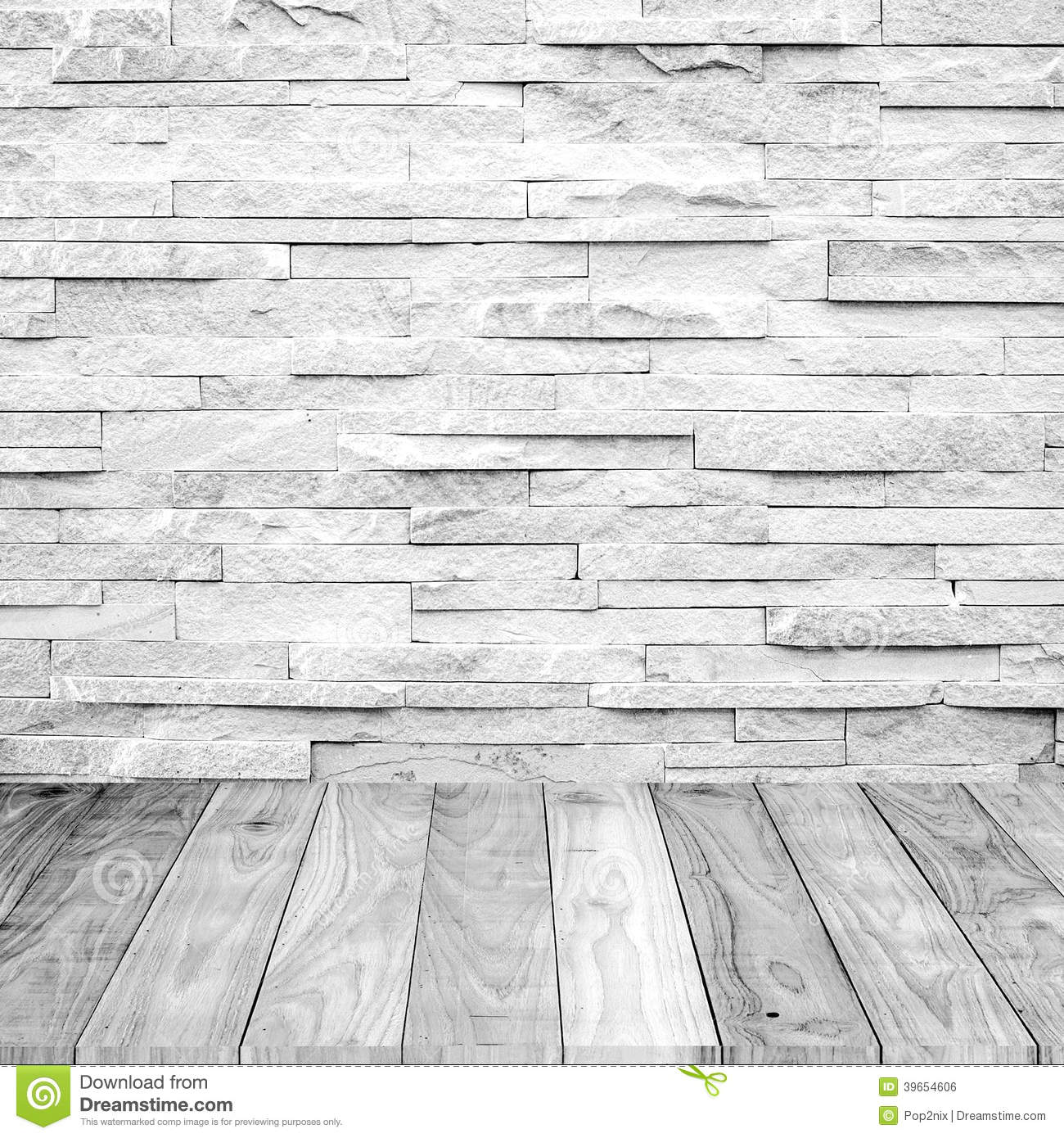 white wood floor with marble stone wall stock photo image 39654606. Black Bedroom Furniture Sets. Home Design Ideas