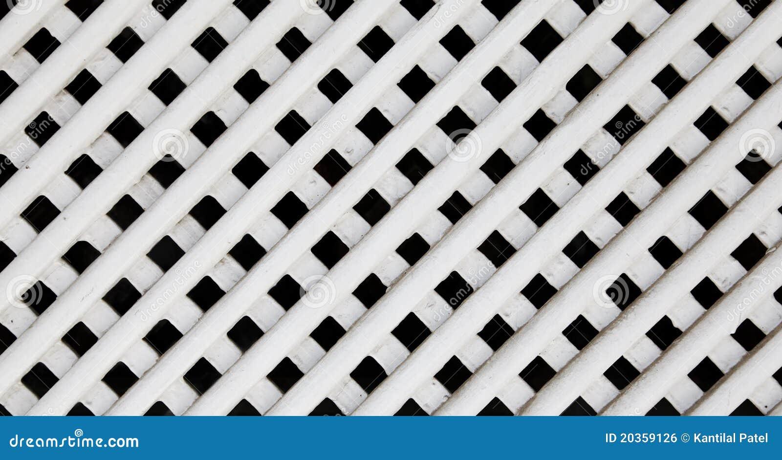 White wood lattice texture royalty free stock image