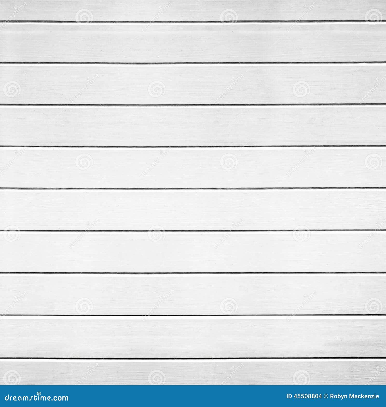White Wood Panel Background Stock Photo Image 45508804
