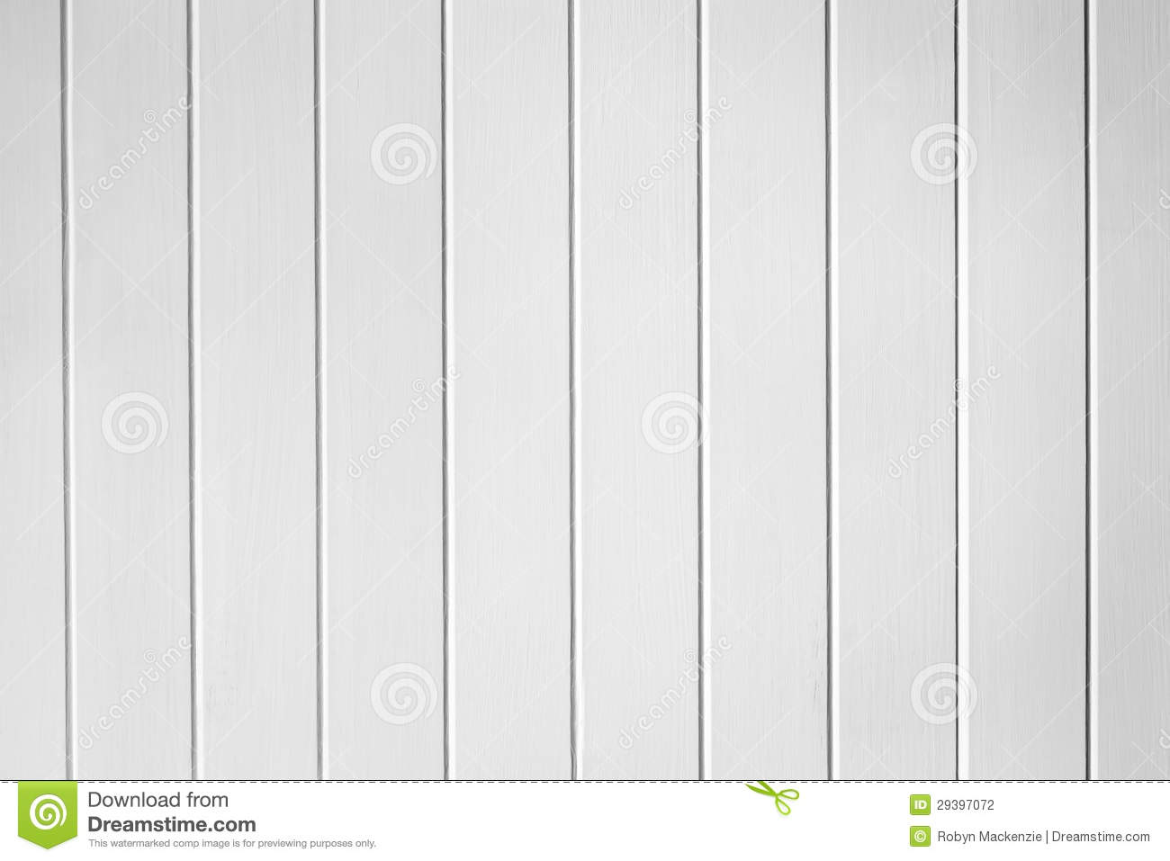 White Wood Panelling Texture Background Stock Photo