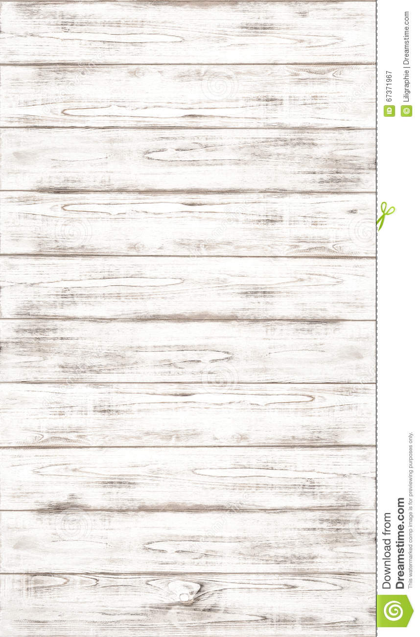 White wooden background with natural wood pattern texture