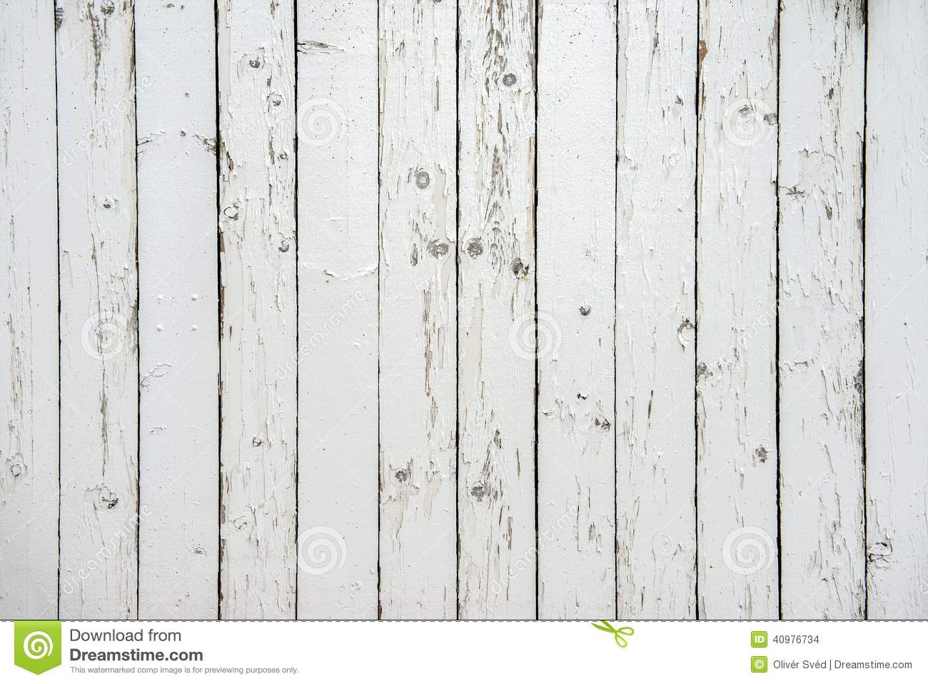 White Wooden Fence Clo...
