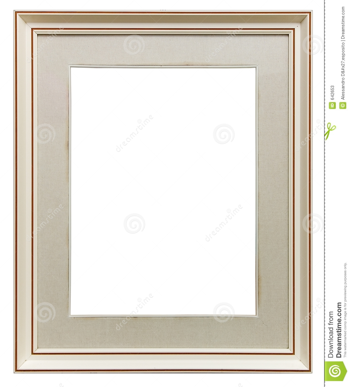 White wooden frame stock photos image 642653 - White wooden picture frames ...