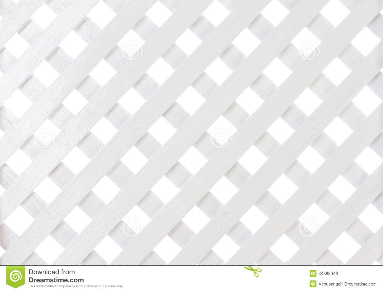 White Wooden Lattice Royalty Free Stock Photos Image