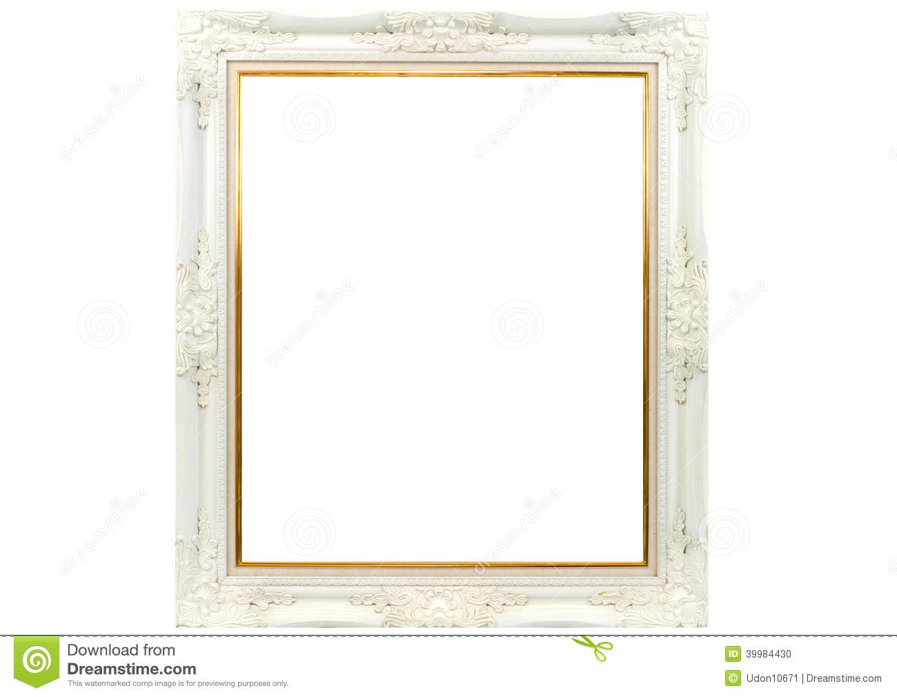 White wooden picture frame - White wooden picture frames ...