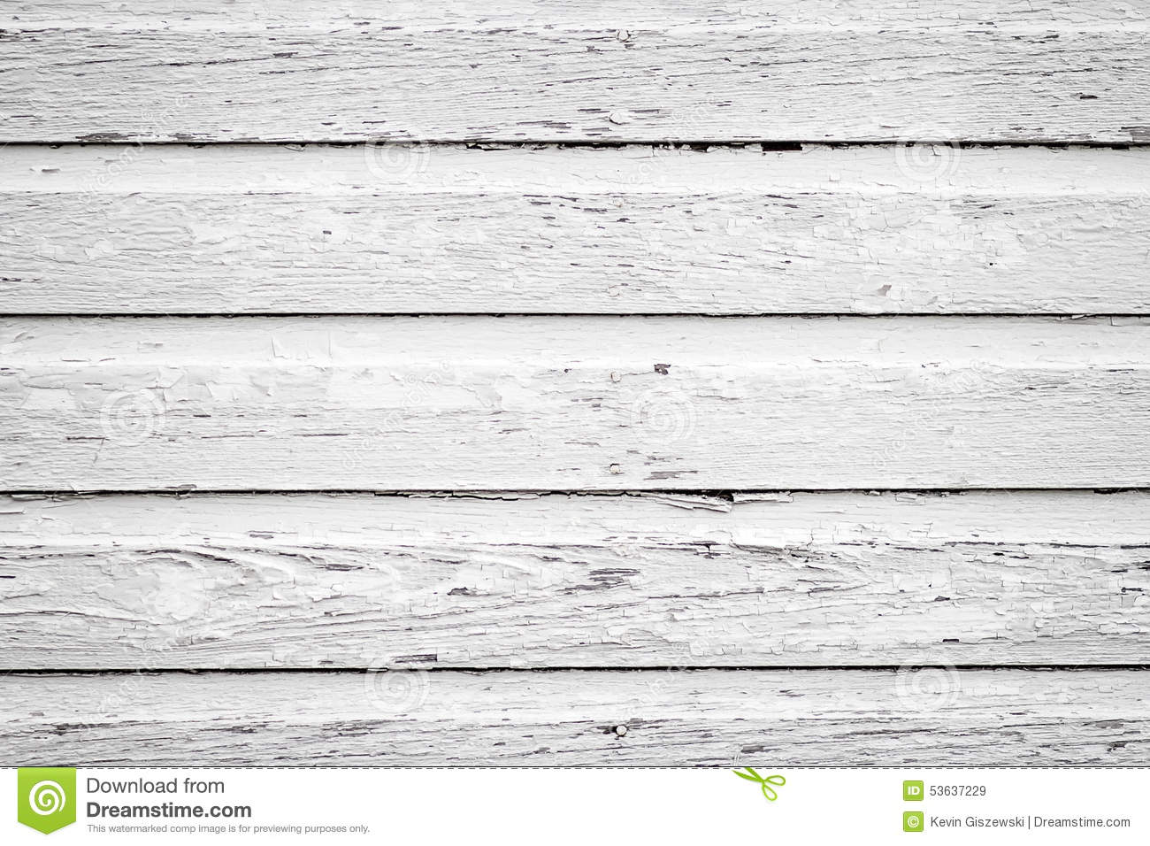 White Wooden Siding Stock Photo Image 53637229