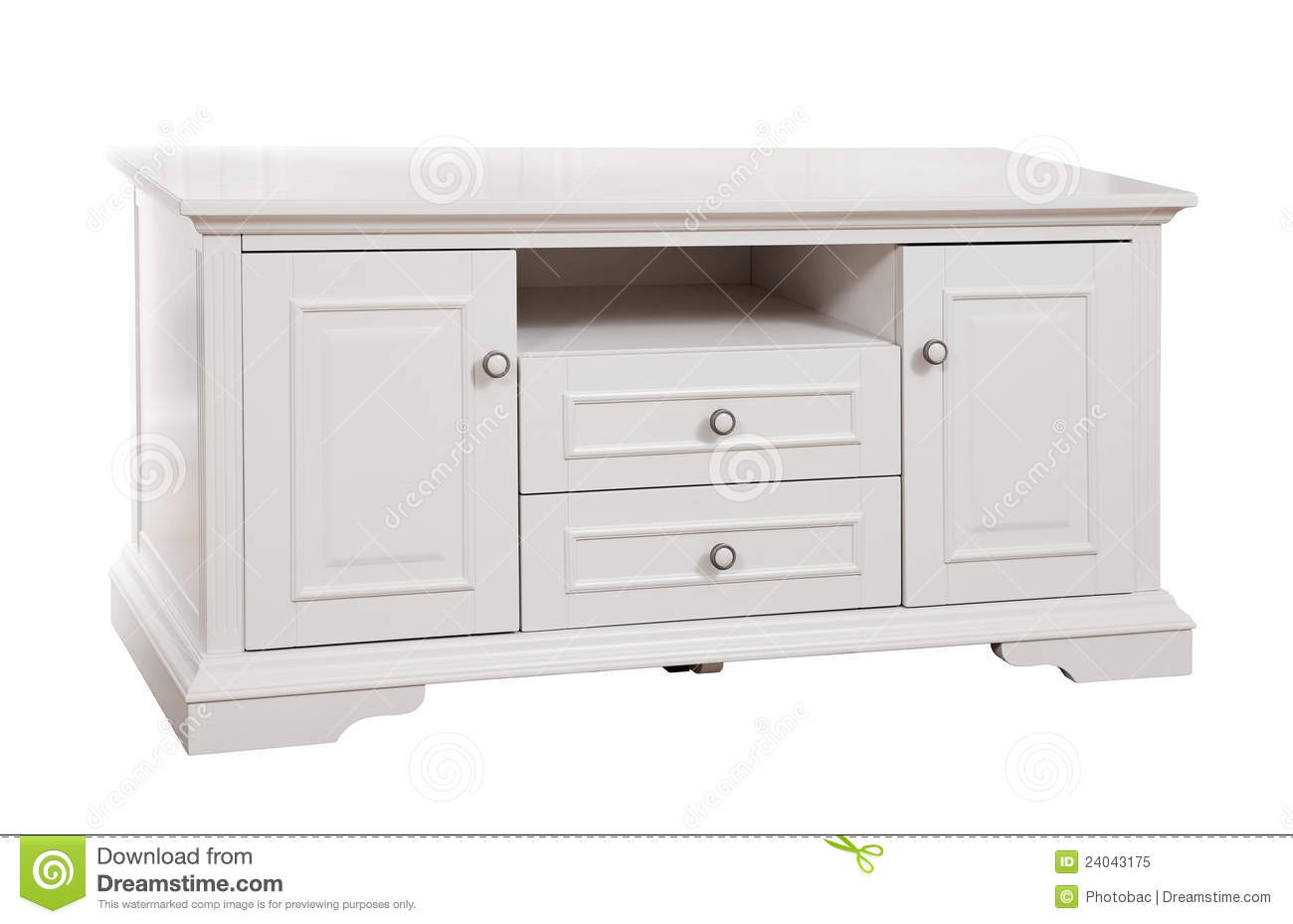 white wood tv stand White Wooden (Tv) Stand, With Clipping Path Stock Photo 24043175  white wood tv stand