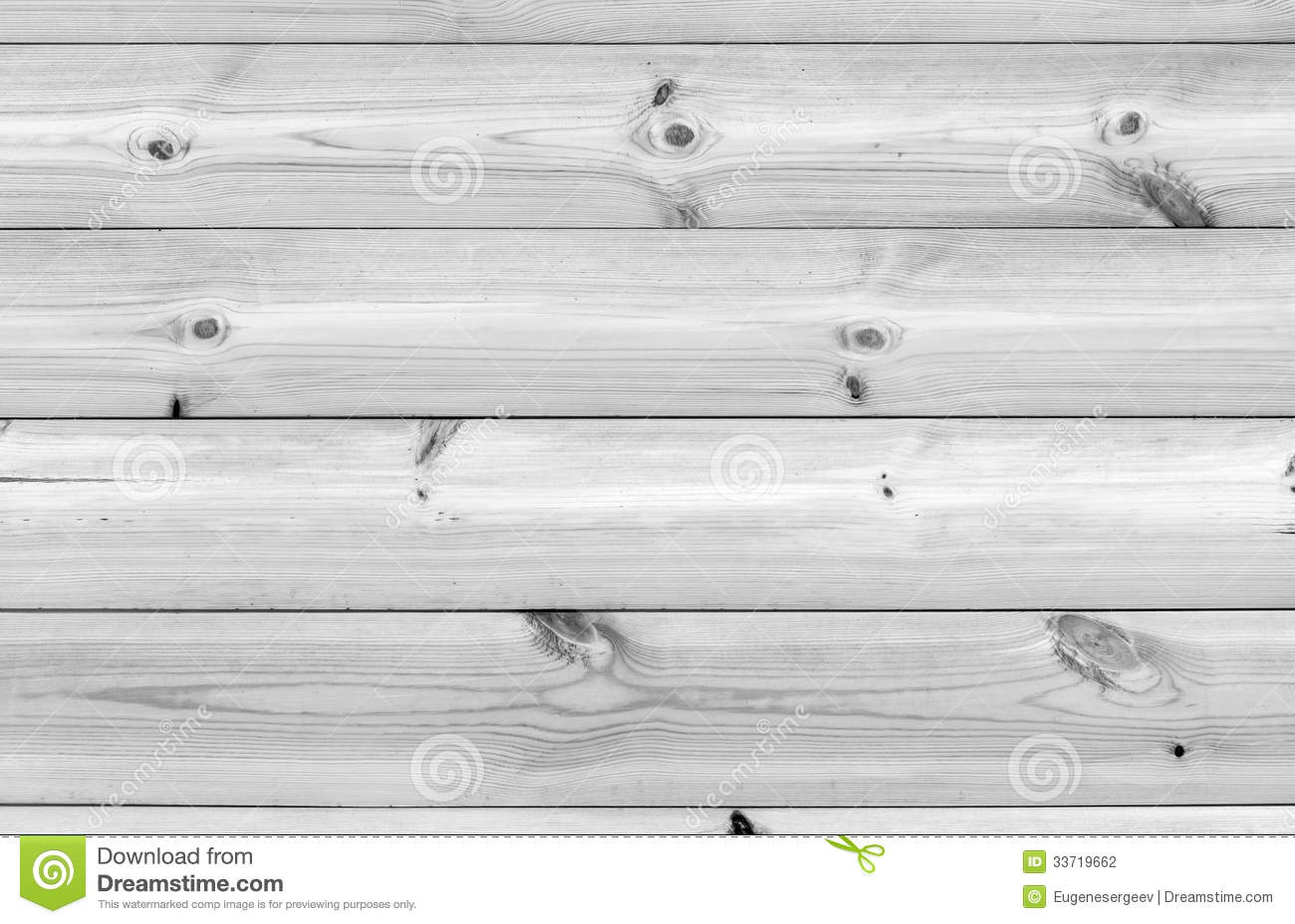 White wooden wall made of pine tree boards stock