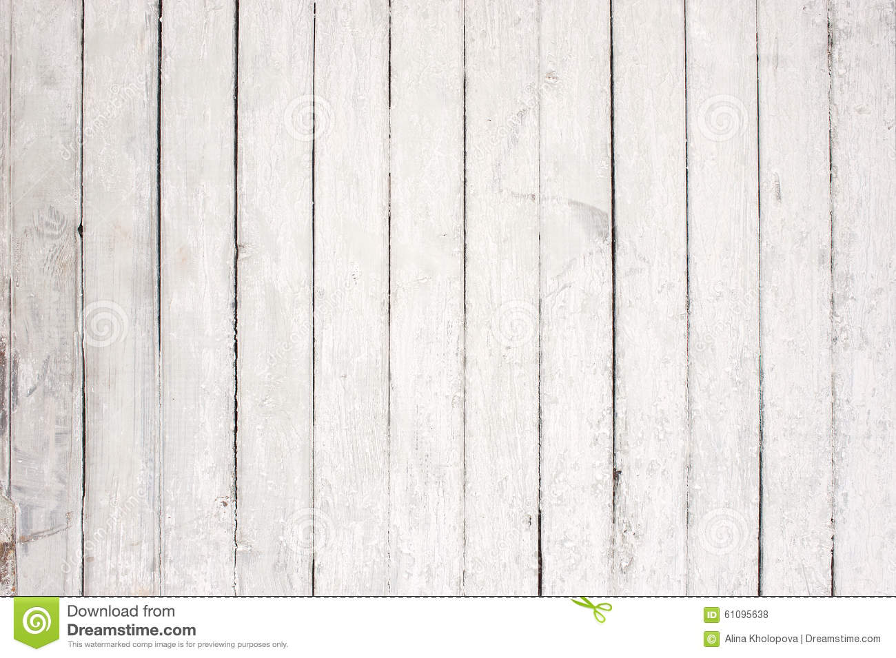 White wooden wall with old paint