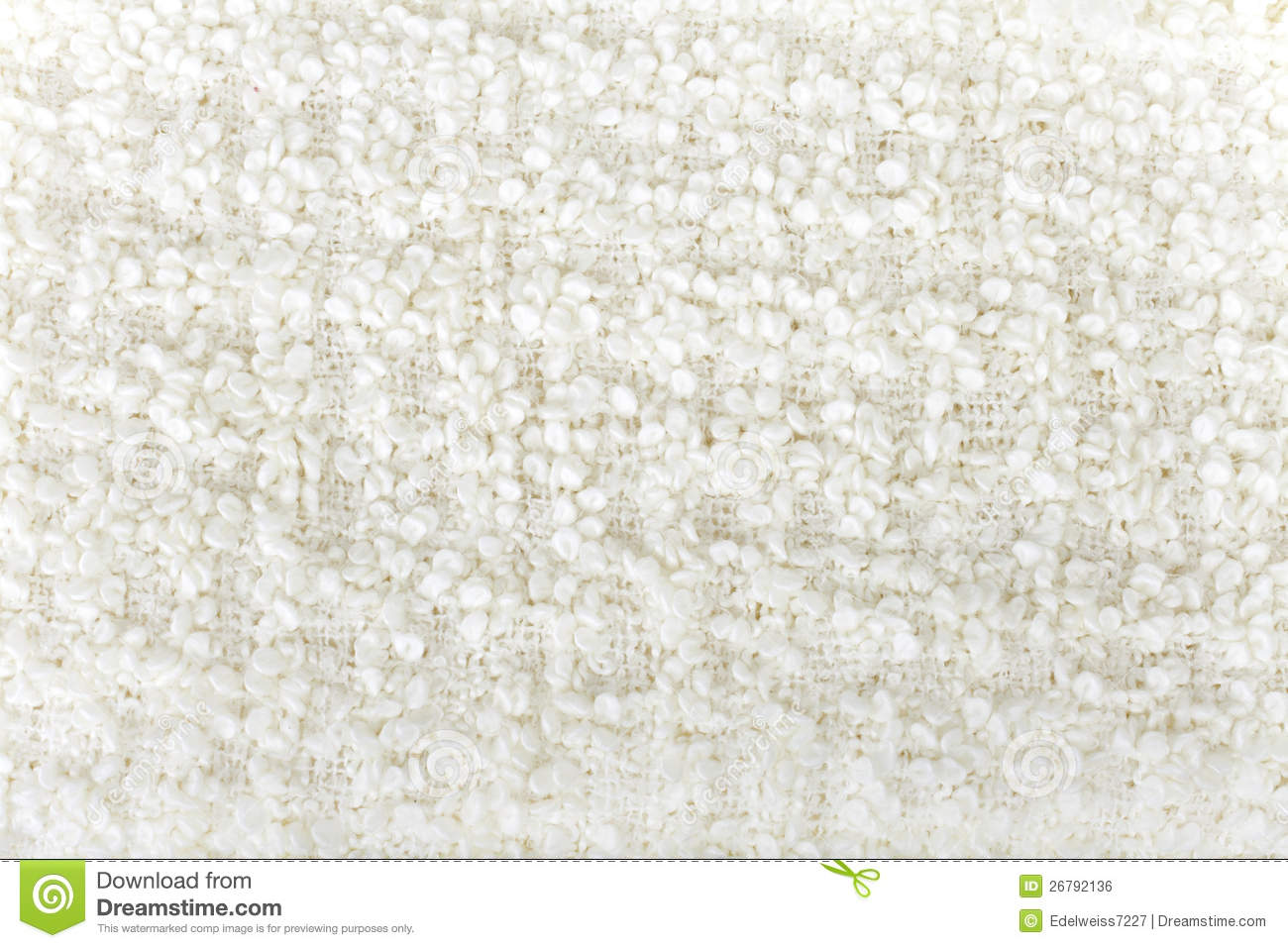 White Wool Boucle Texture Stock Photo Image Of Hairy