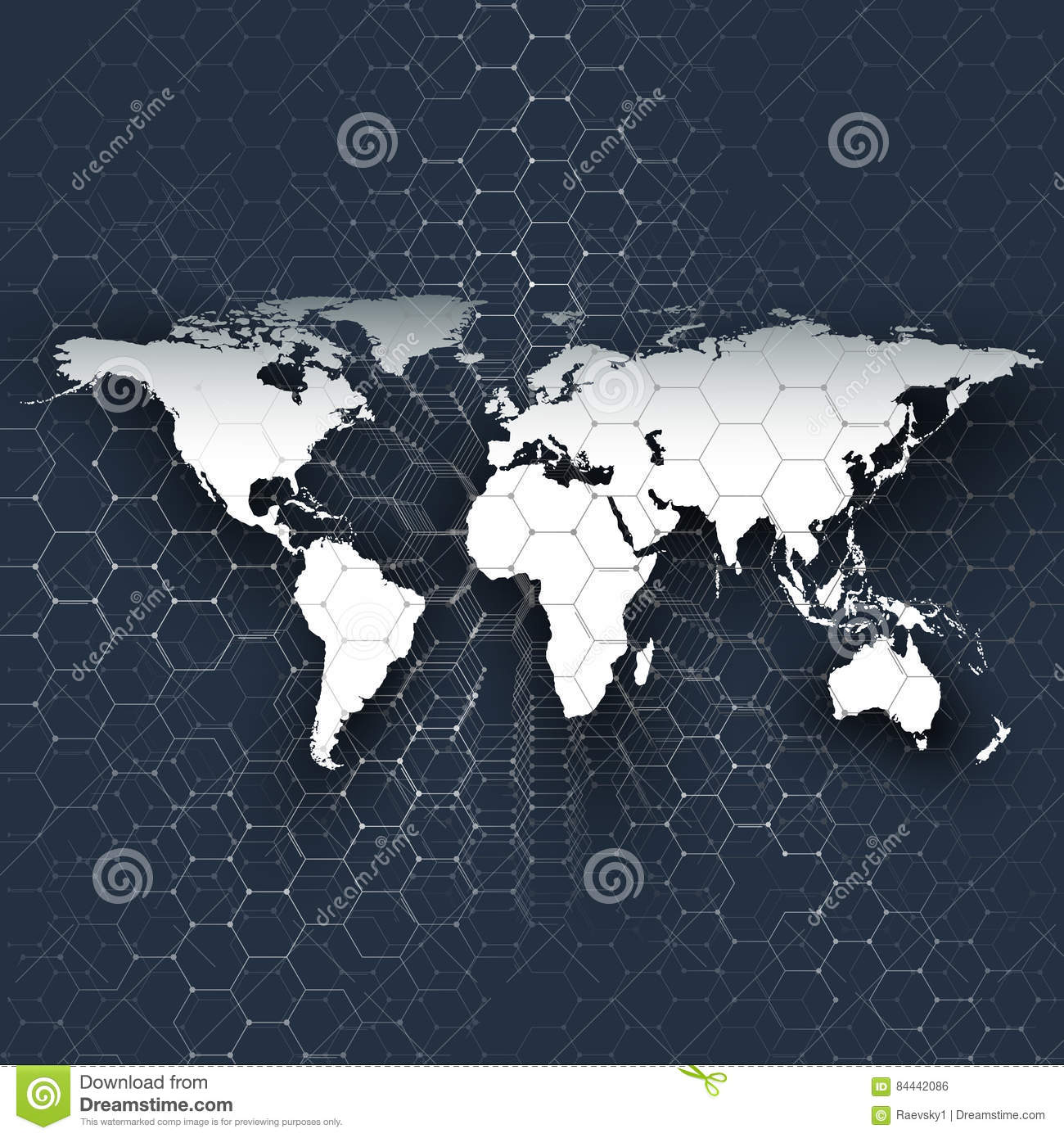 White world map connecting lines and dots on blue color background download comp gumiabroncs Choice Image