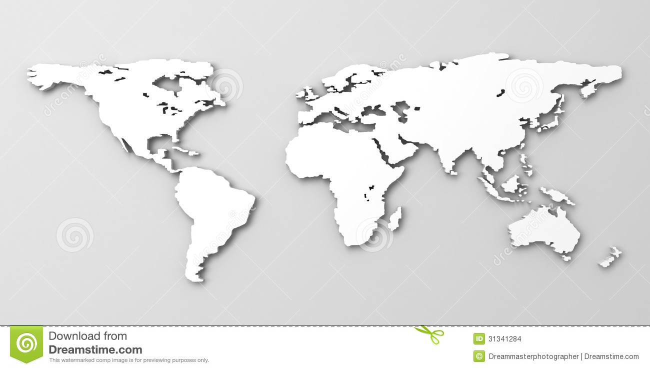 White world map stock illustration illustration of hemisphere download white world map stock illustration illustration of hemisphere 31341284 gumiabroncs Image collections