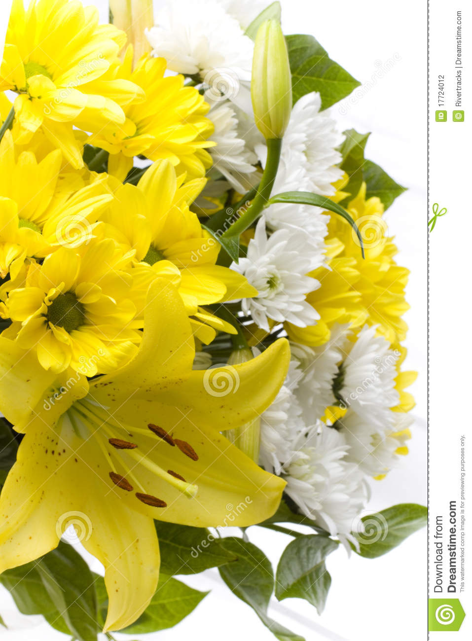 White and yellow lilium and carnation flowers stock photo image of white and yellow lilium and carnation flowers mightylinksfo
