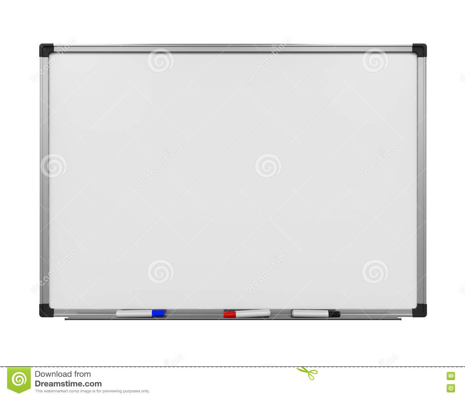 Whiteboard blanc