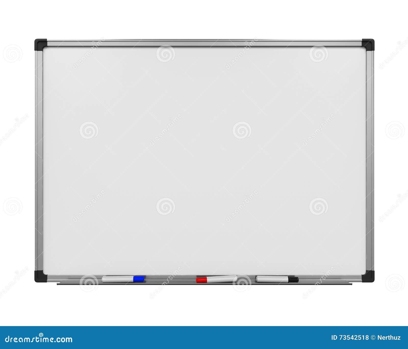 Whiteboard em branco