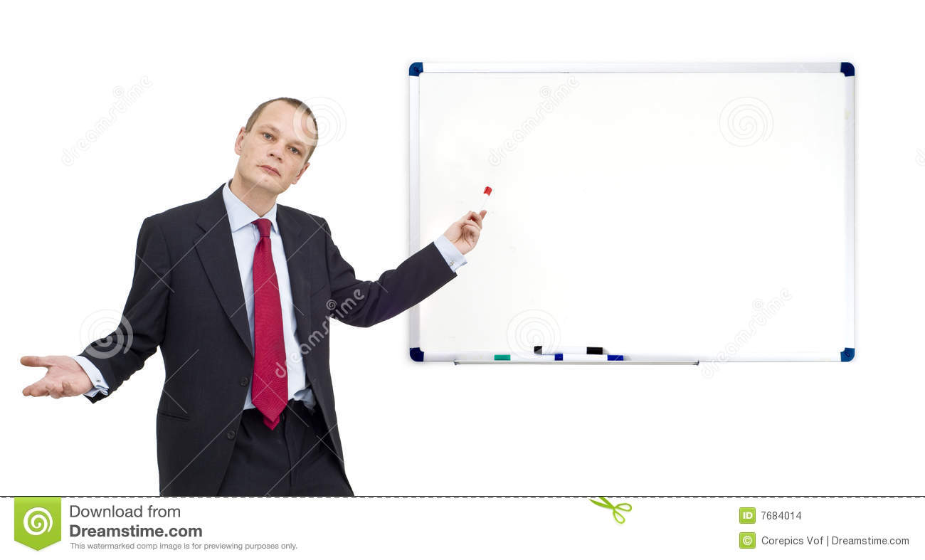 whiteboard presentation stock photo image of well formal 7684014