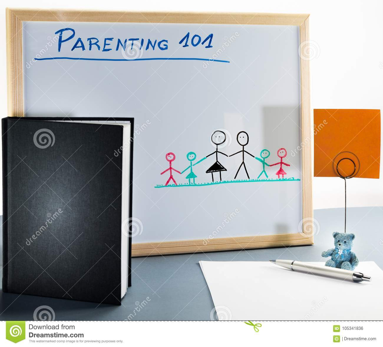A whiteboard used for parenting classes and sex education in highschool or university.