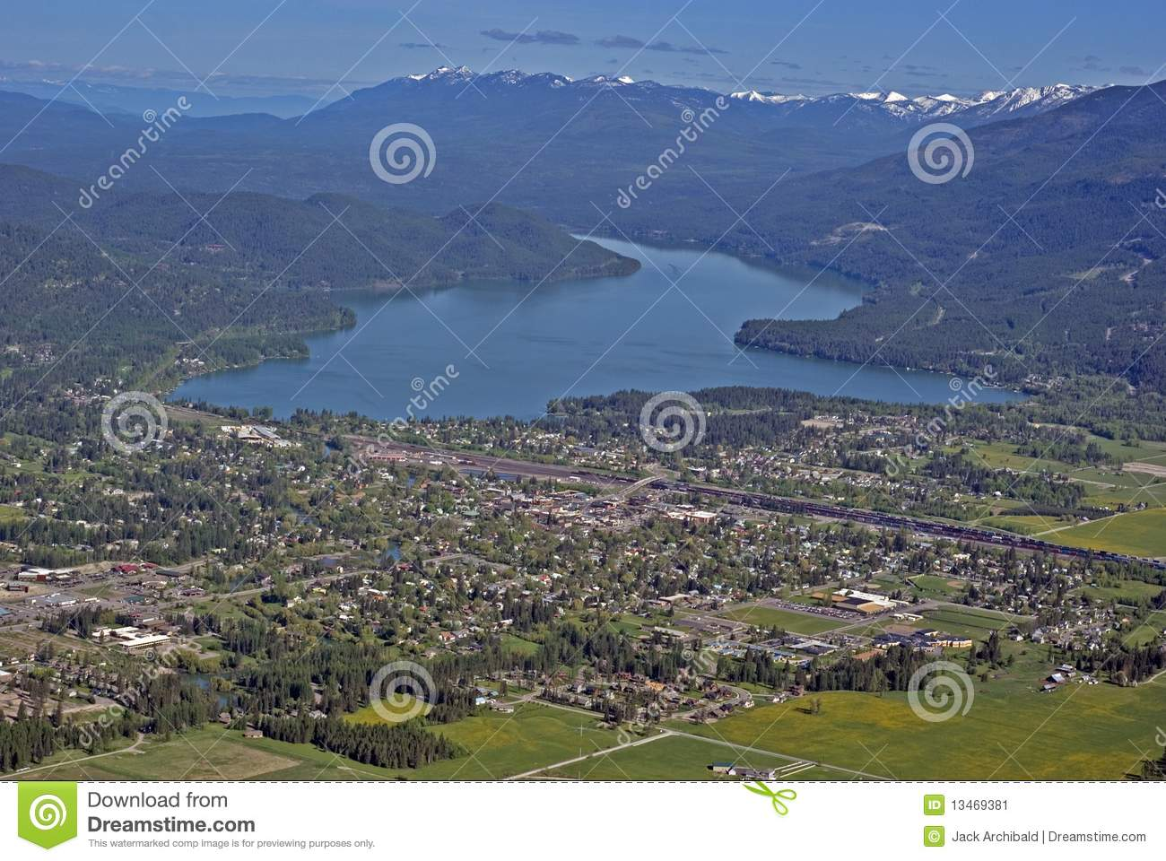 Whitefish montana usa stock image image of forests for White fish montana