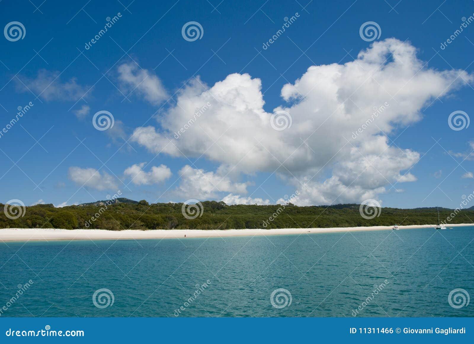 Whitehaven Strand, Queensland, Australien