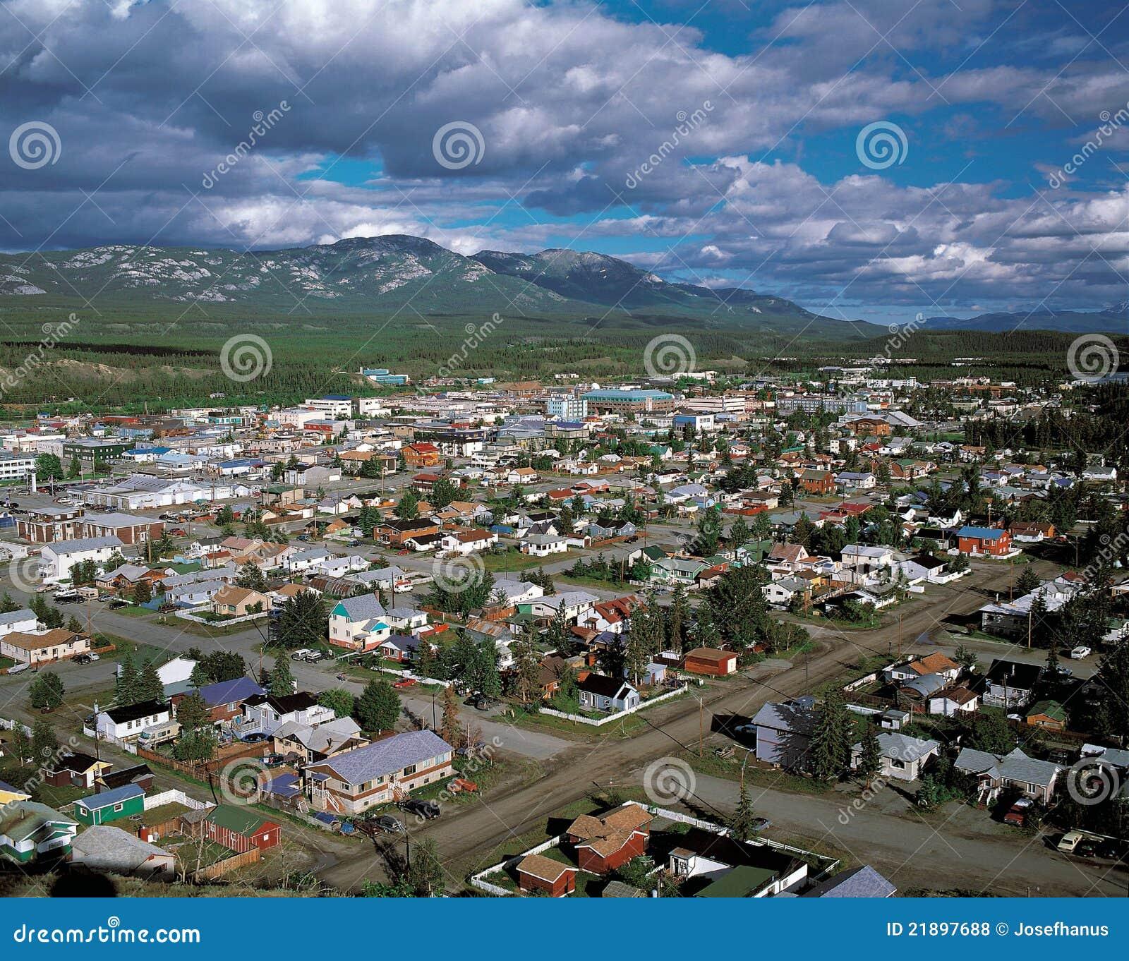 Whitehorse (YT) Canada  City pictures : Whitehorse At Yukon, Canada Royalty Free Stock Photos Image ...