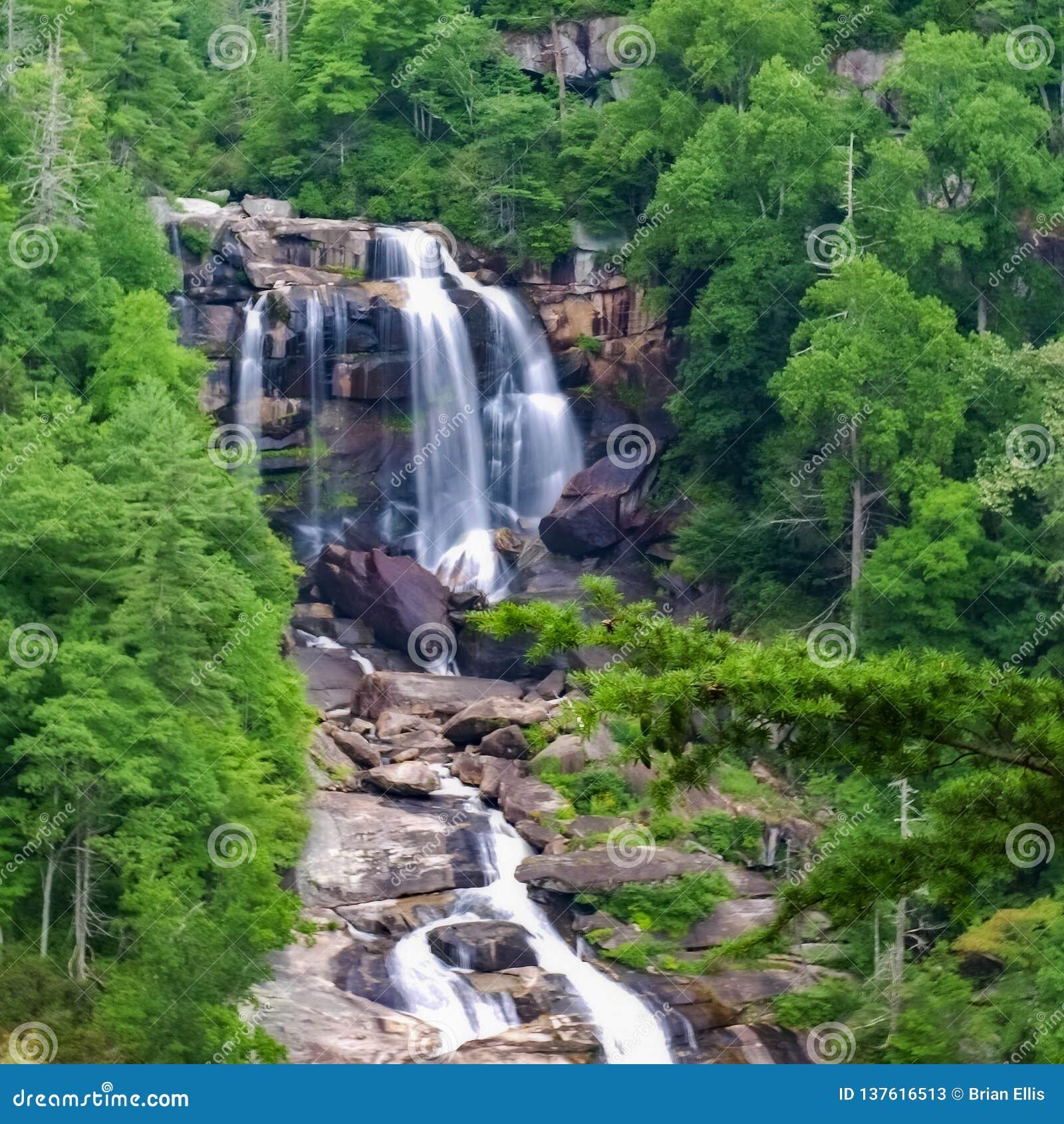 Whitewater baja en Carolina del Norte