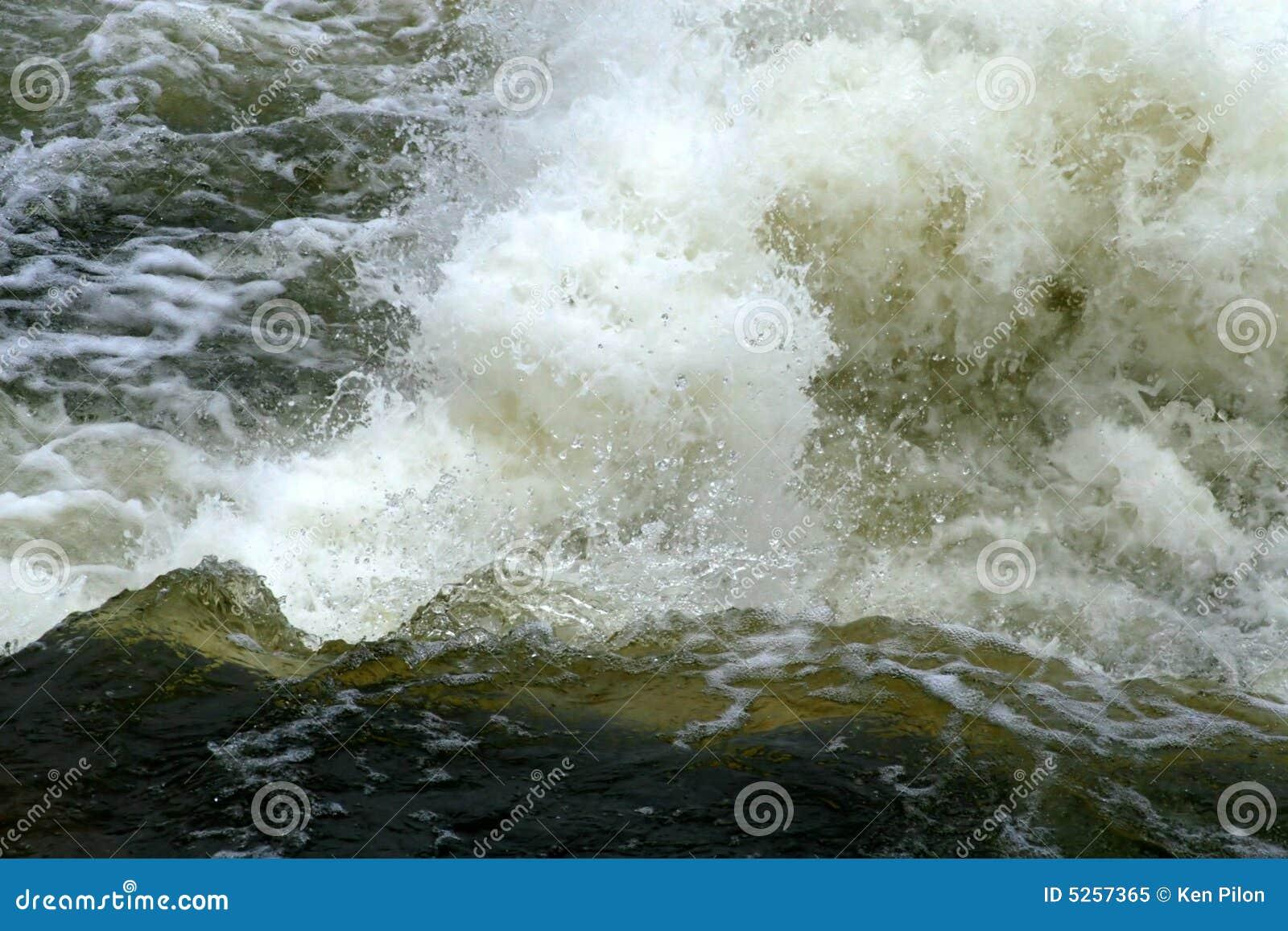 Whitewater rapids
