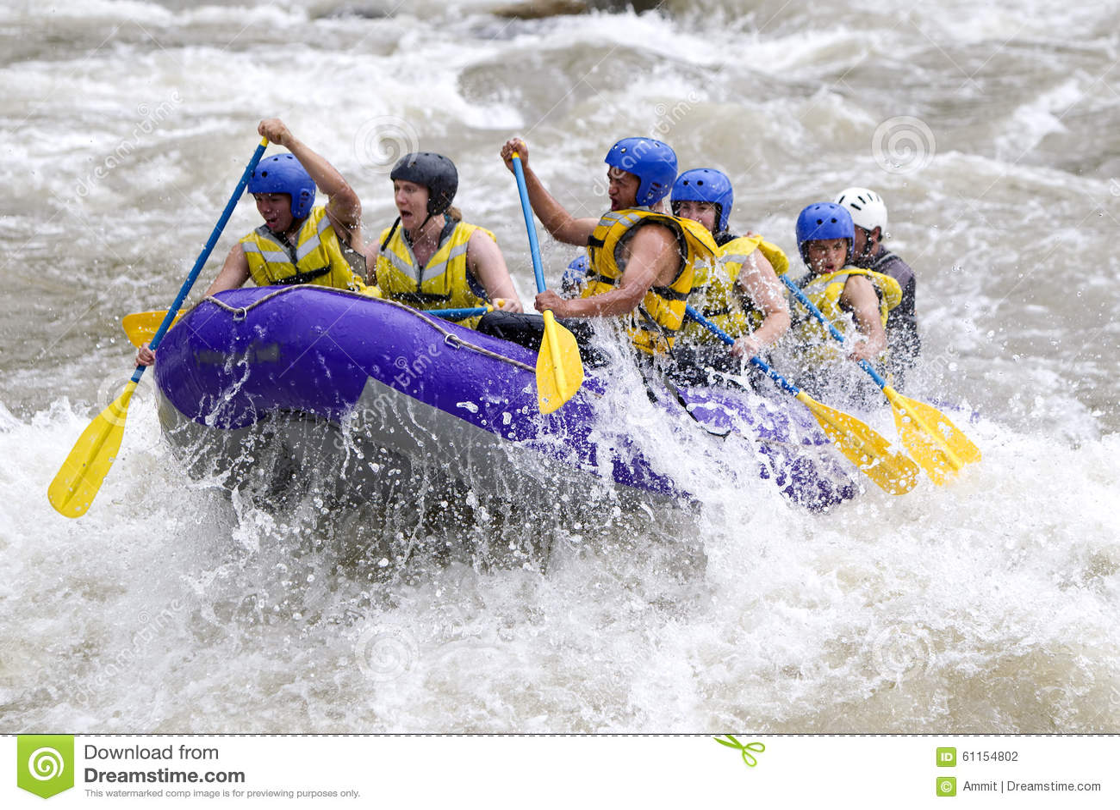 Whitewaterrivier Rafting