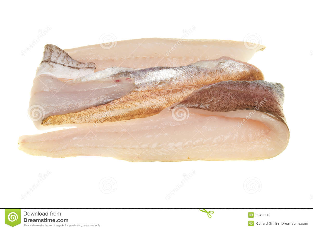 Whiting fillets stock photo image of fresh white scale for Whiting fish fillet