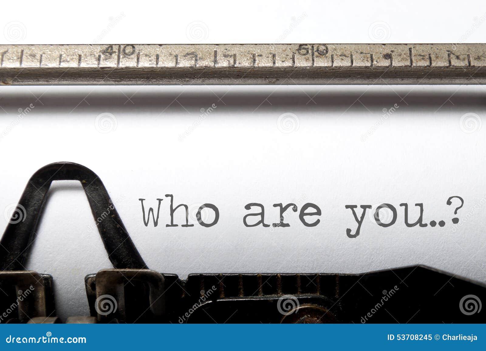 Who is u?