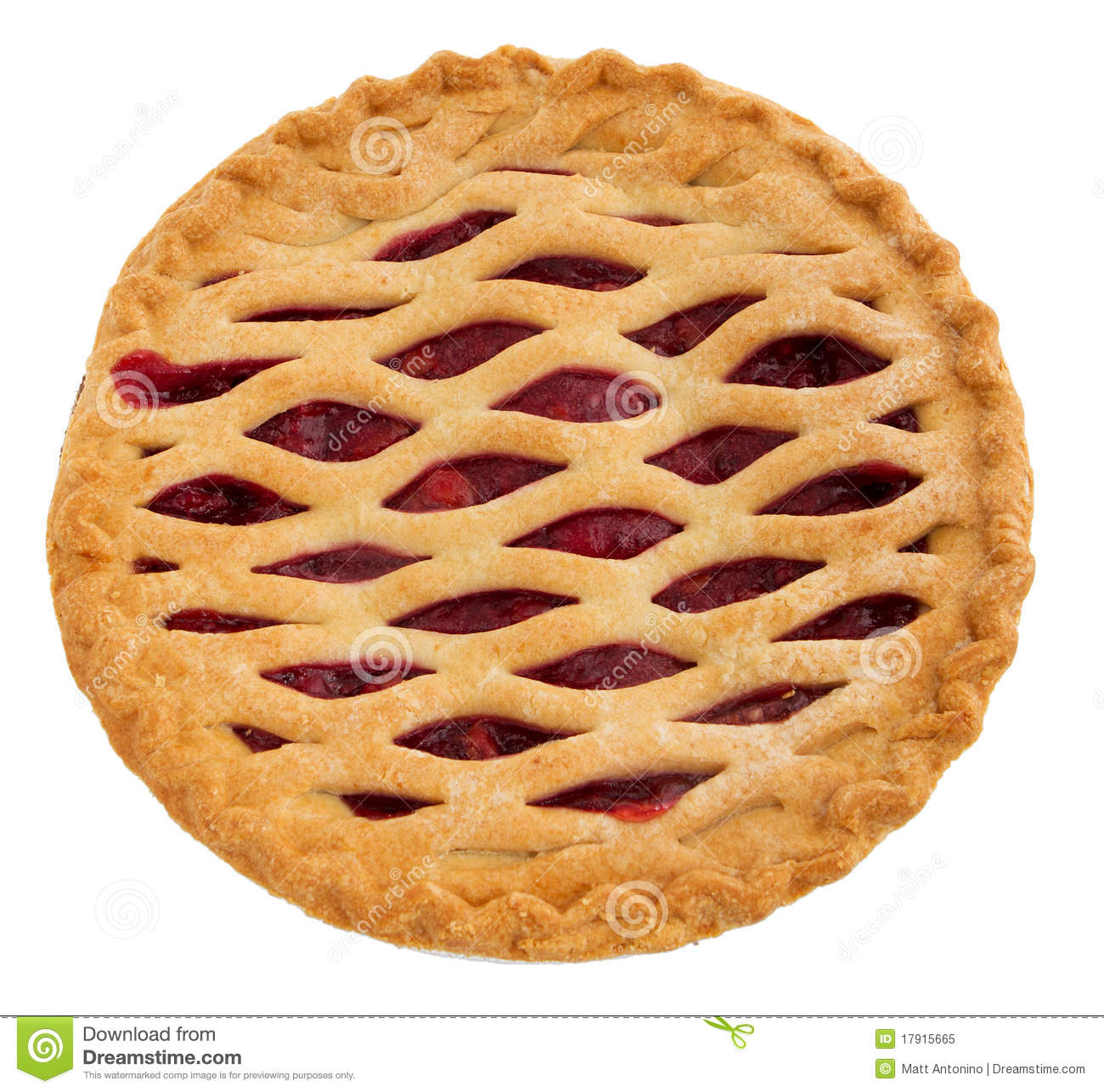 whole cherry pie stock image image of close sugar berry 17915665