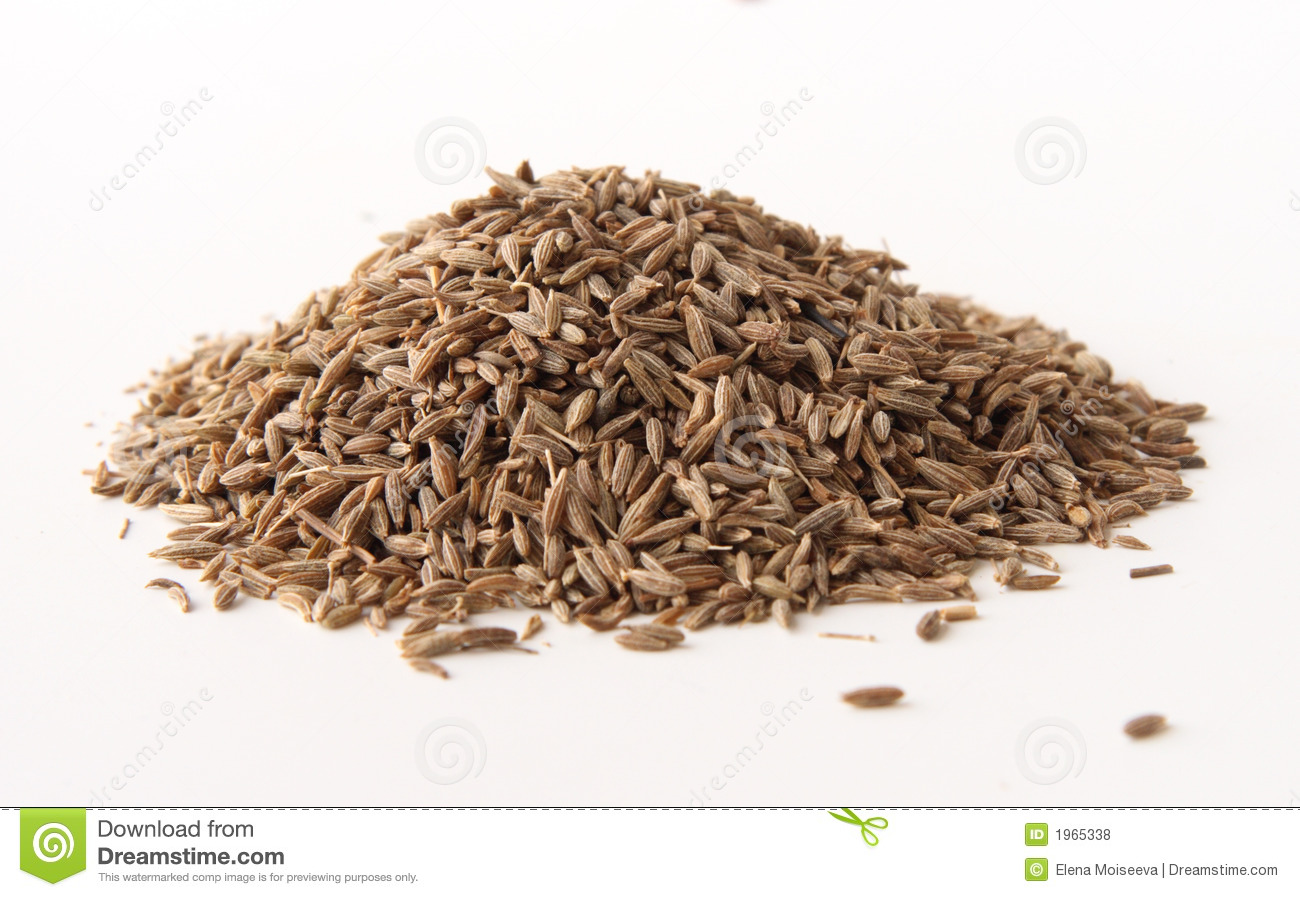 Whole Cumin Seeds Royalty Free Stock Photos - Image: 1965338