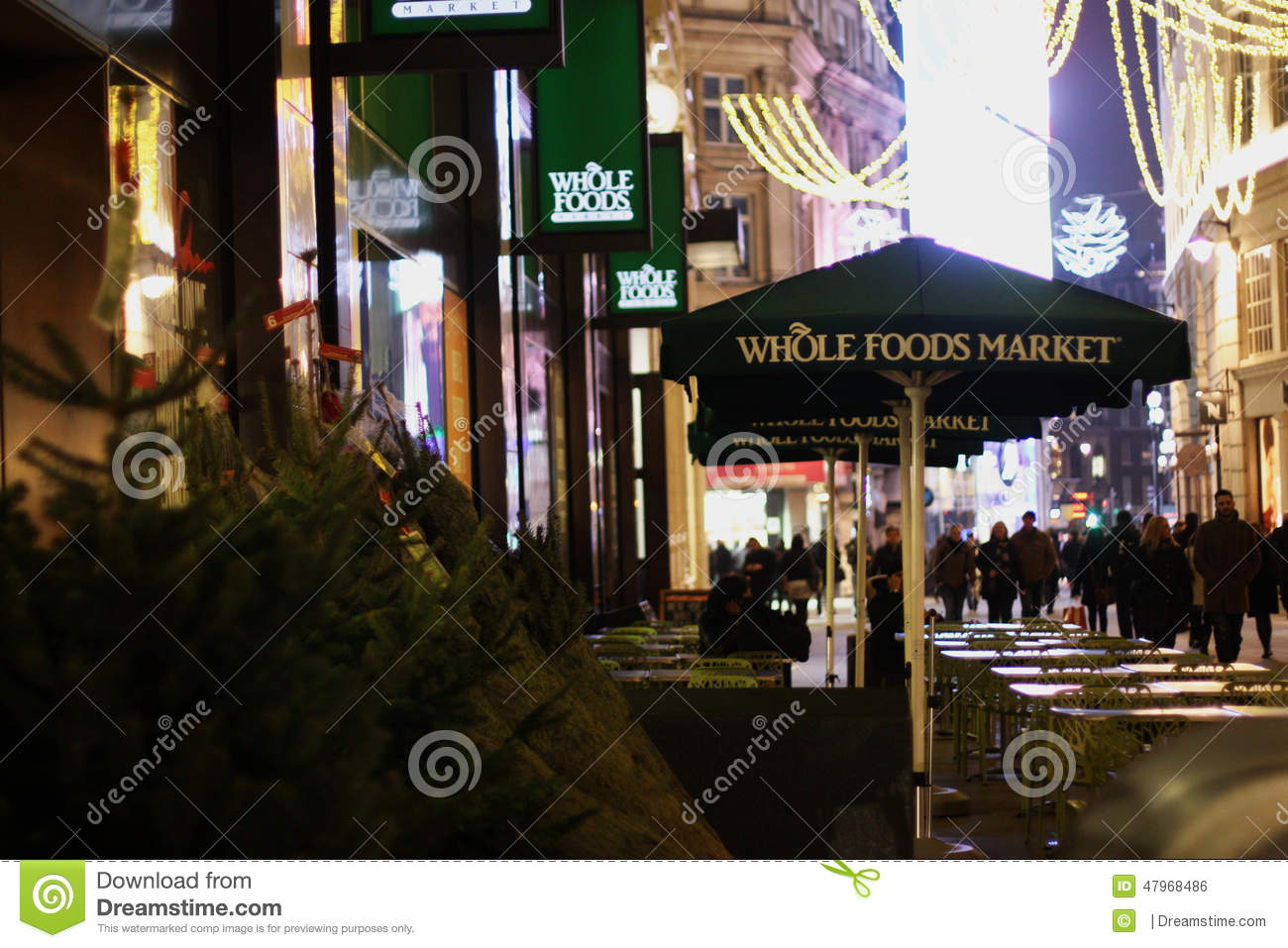 Whole Foods Market In London Editorial Photo - Image of ...