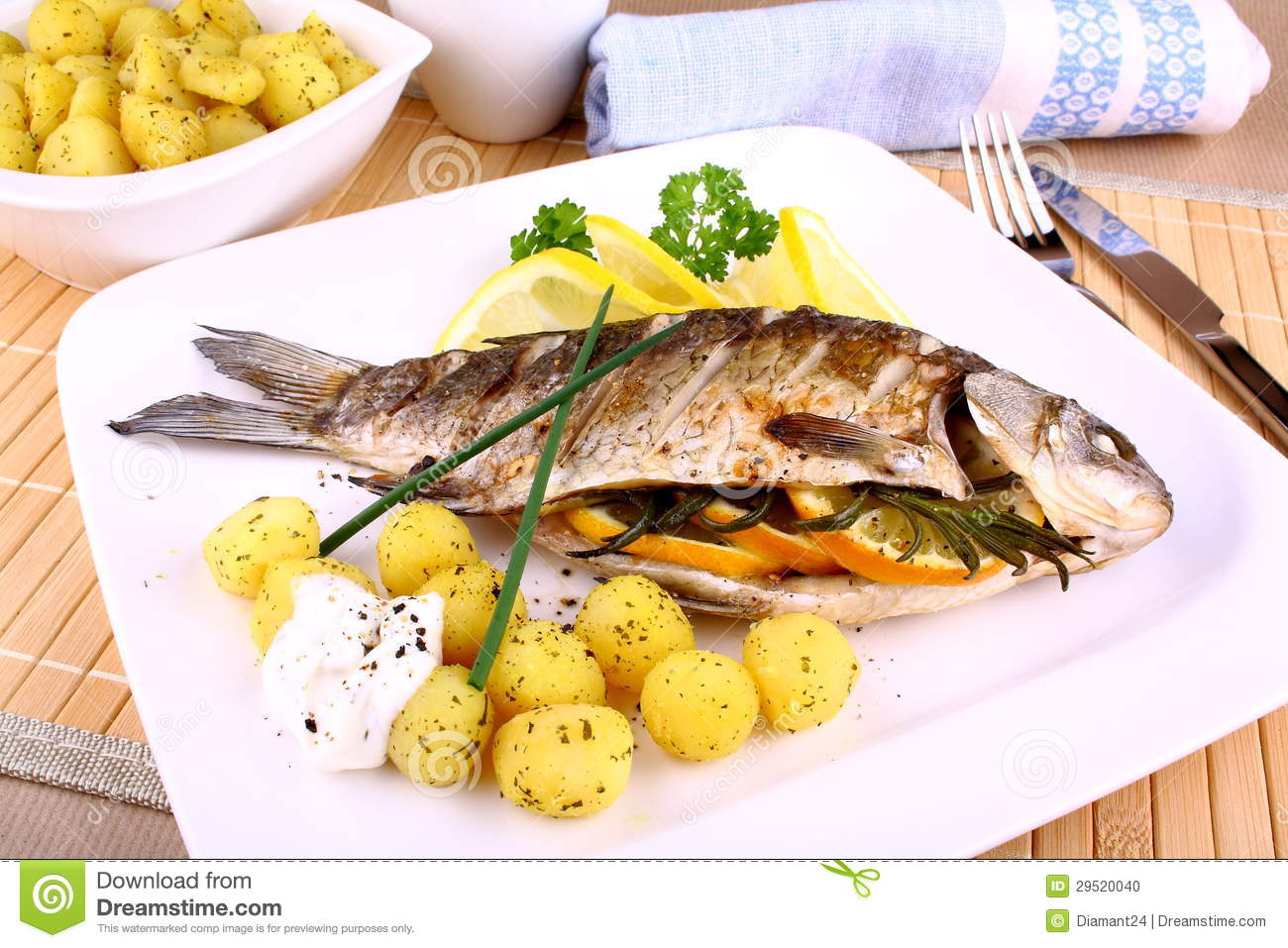 Why is lemon served with Fish - answers.com