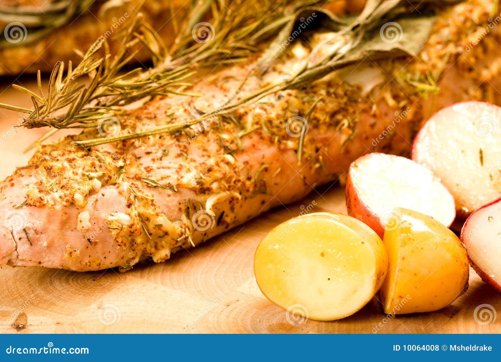 Download Whole Pork Tenderloin stock photo. Image of coat, twigs - 10064008