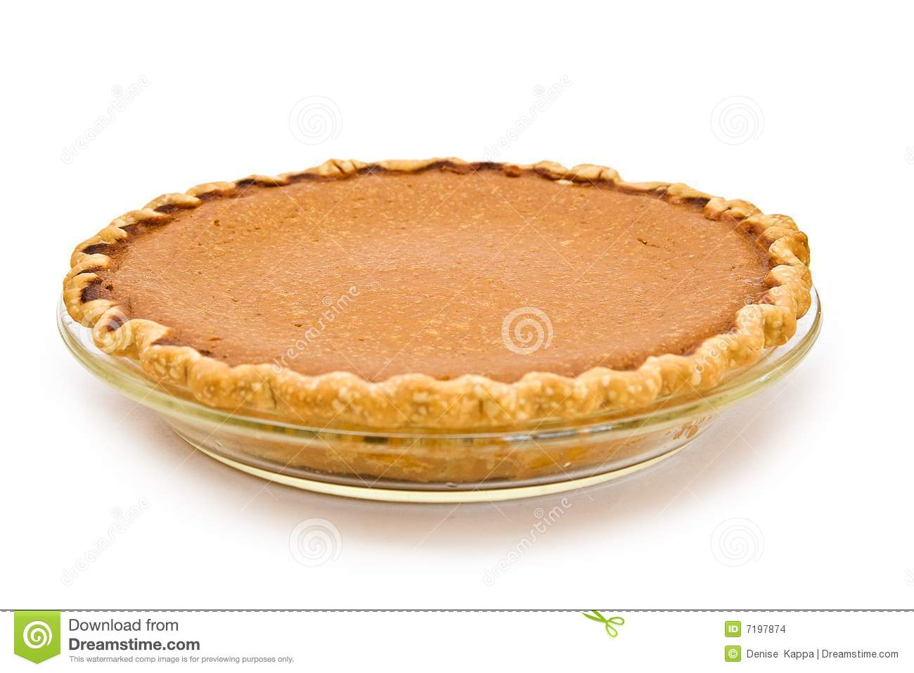 Whole Pumpkin Pie stock photo. Image of home, round, cook ...
