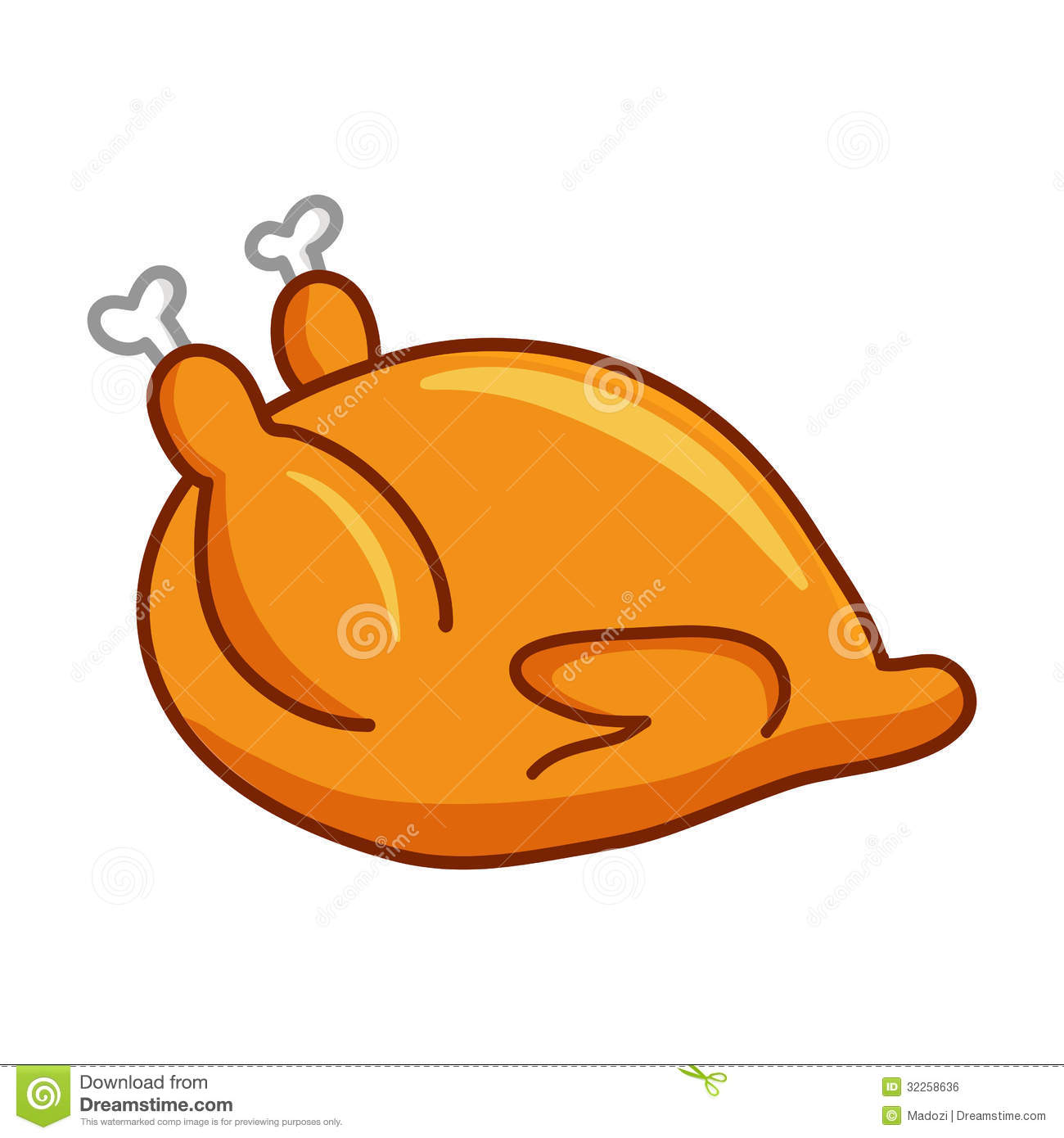 clipart chicken cooked - photo #4